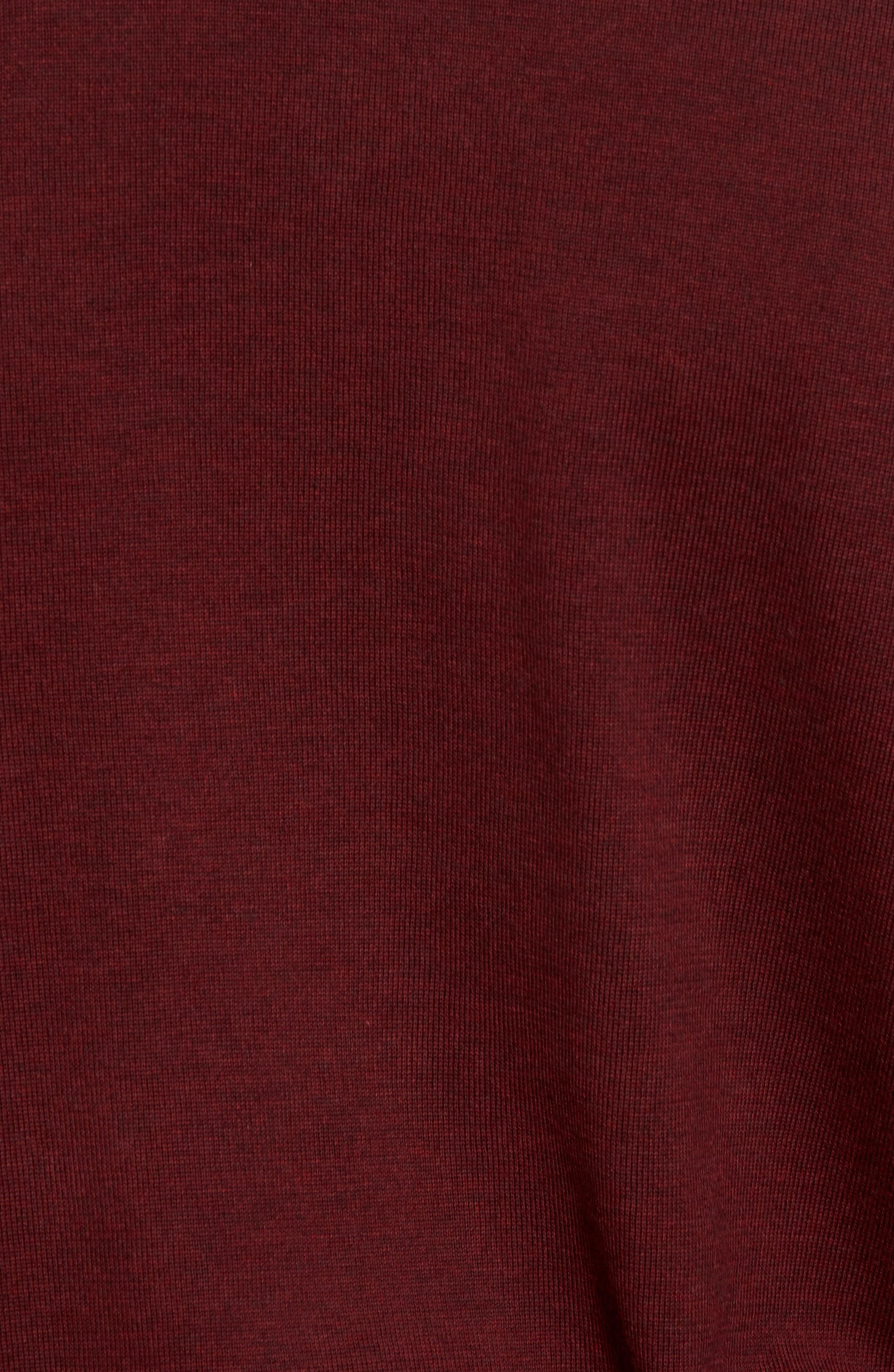Cotton Jersey V-Neck Sweater,                             Alternate thumbnail 26, color,