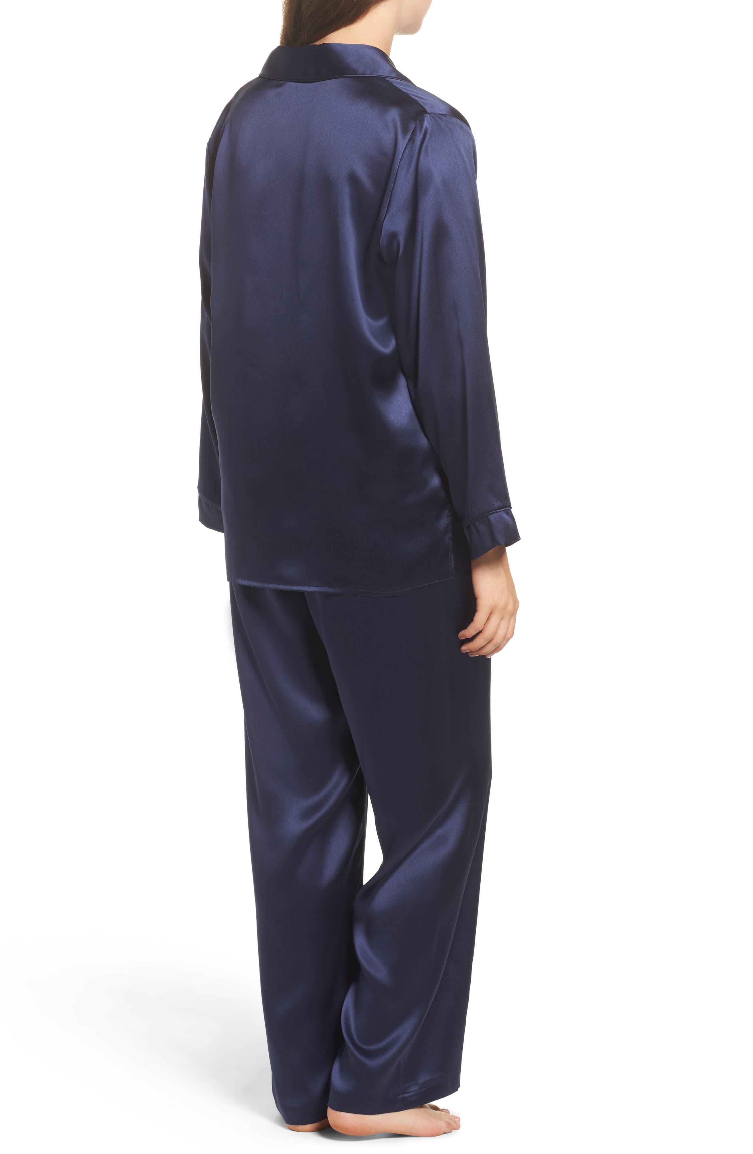 Silk Pajamas,                             Alternate thumbnail 2, color,                             410