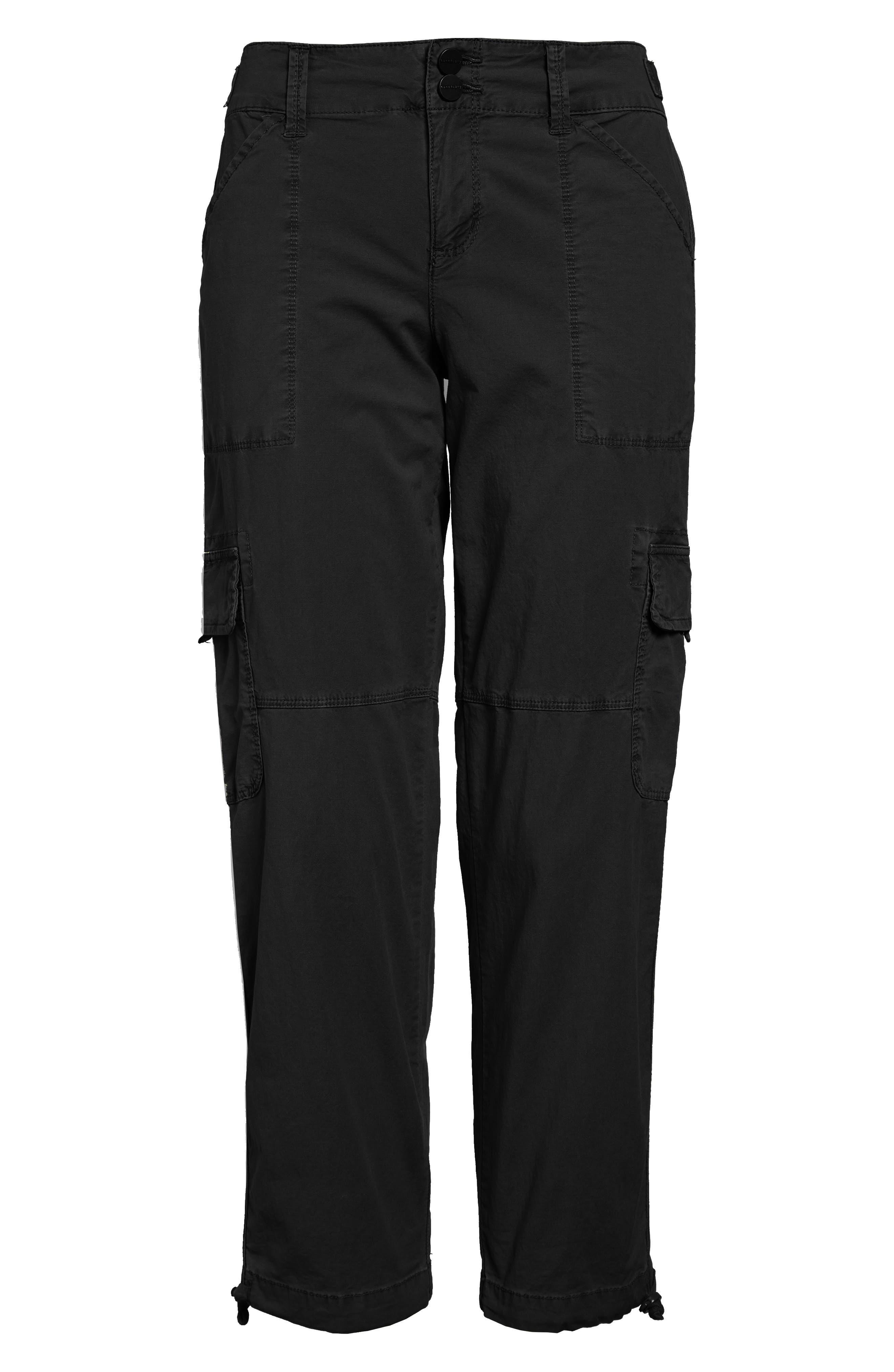 Terrain Crop Cargo Pants,                             Alternate thumbnail 3, color,                             001