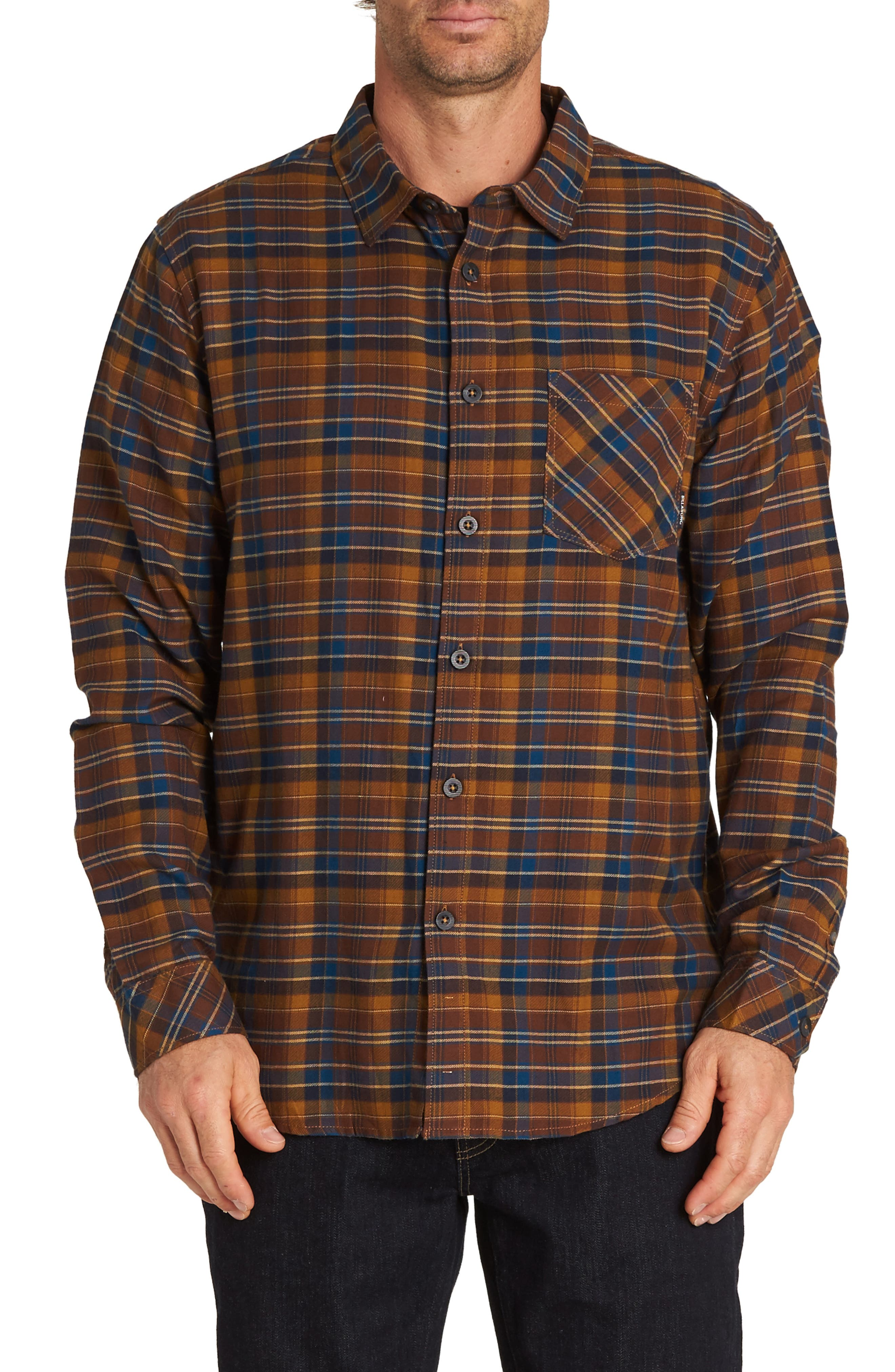 Freemont Flannel Shirt,                             Main thumbnail 1, color,                             HASH