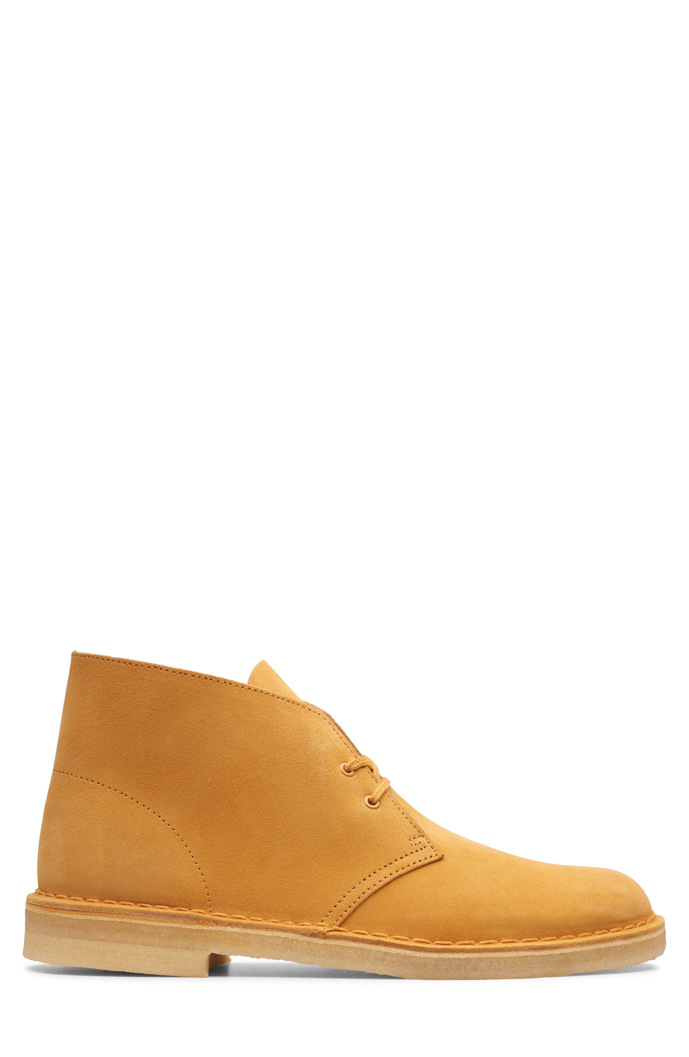 CLARKS<SUP>®</SUP>,                             Originals 'Desert' Boot,                             Alternate thumbnail 2, color,                             TURMERIC/BROWN SUEDE