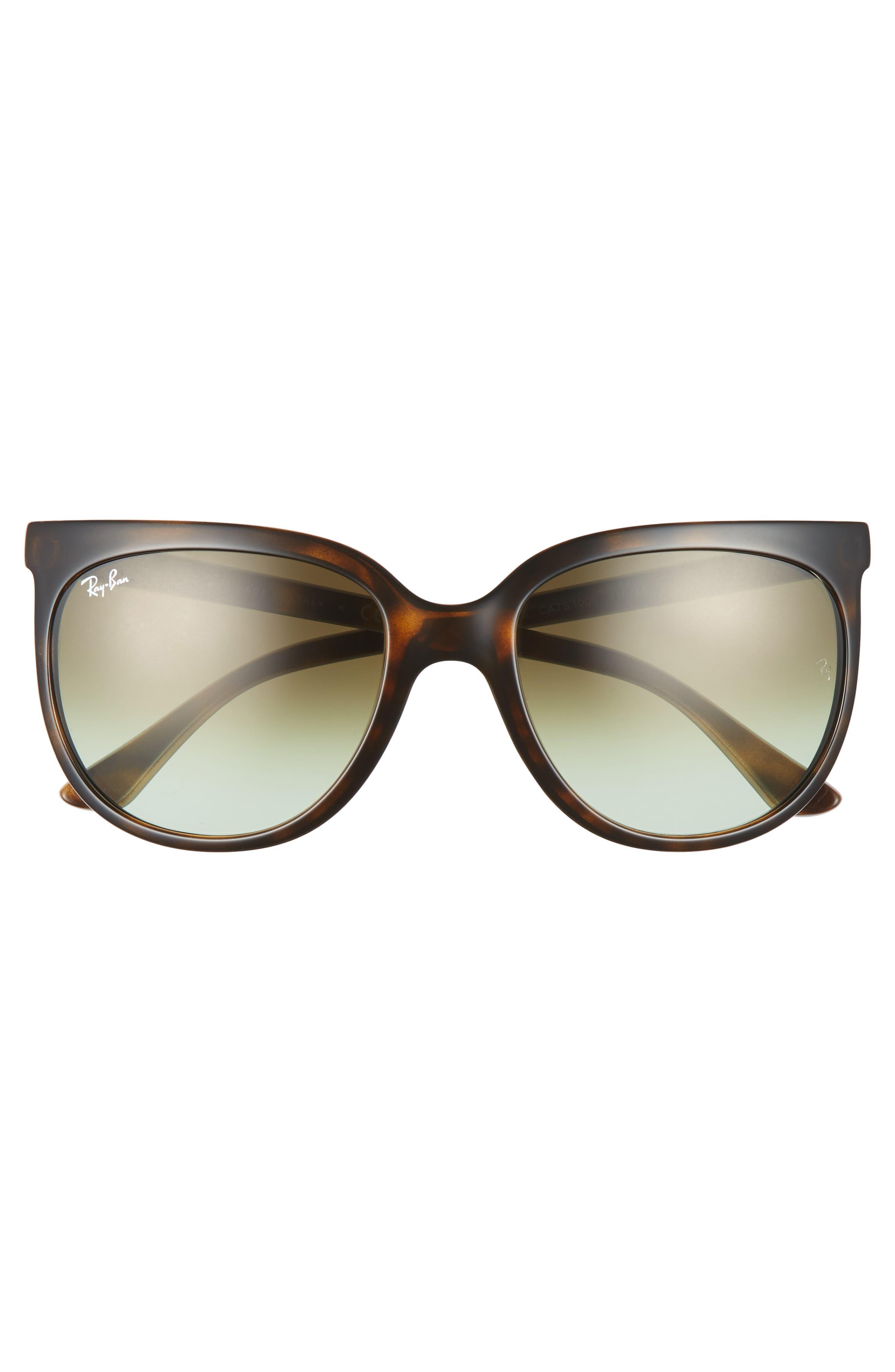 Retro Cat Eye Sunglasses,                             Alternate thumbnail 19, color,