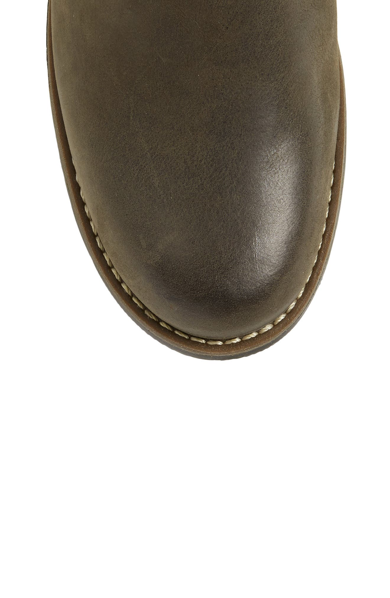 Pardo Boot,                             Alternate thumbnail 5, color,                             GRAY VINTAGE LEATHER