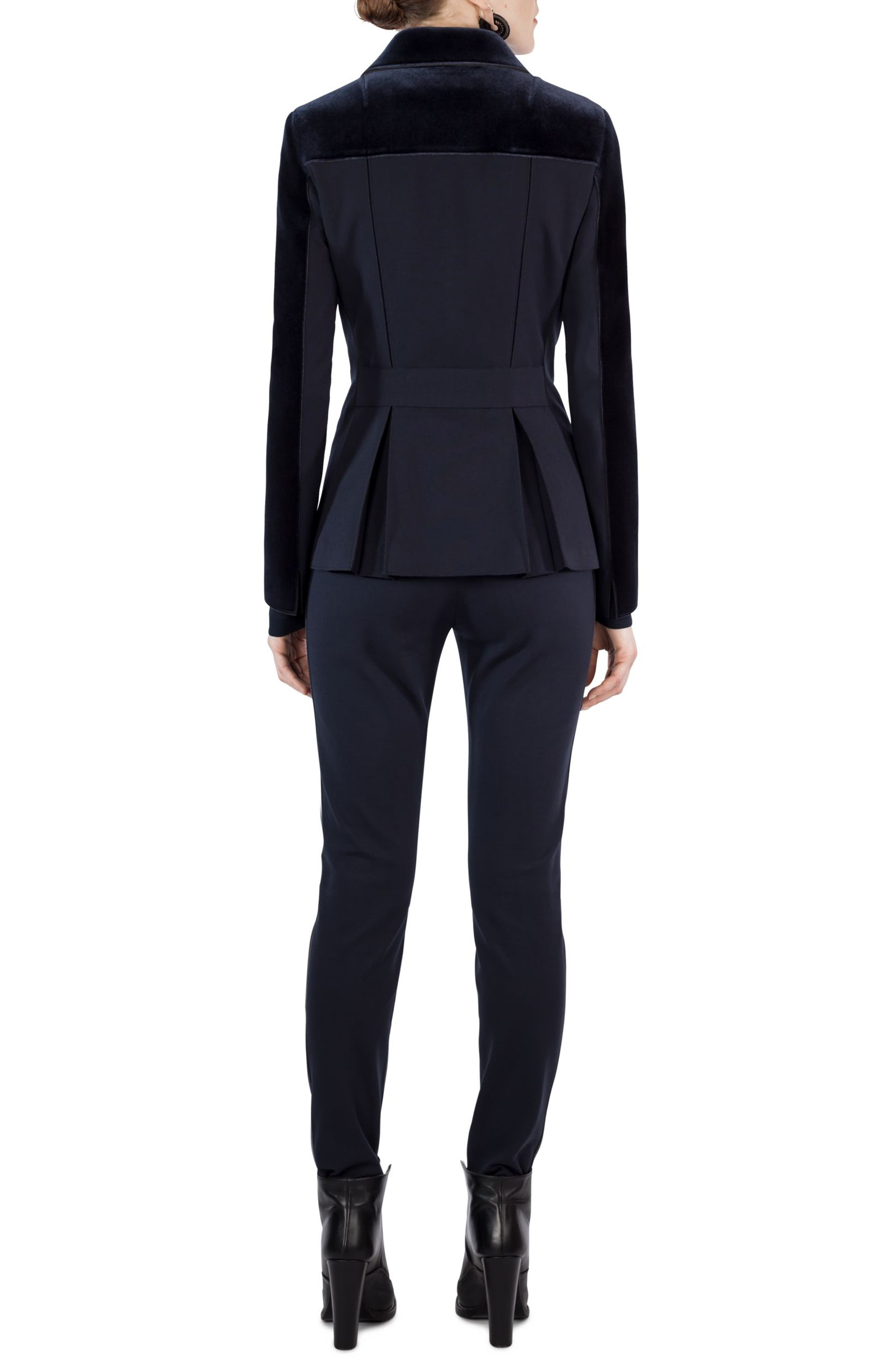 Mara Velvet Pants,                         Main,                         color, 400