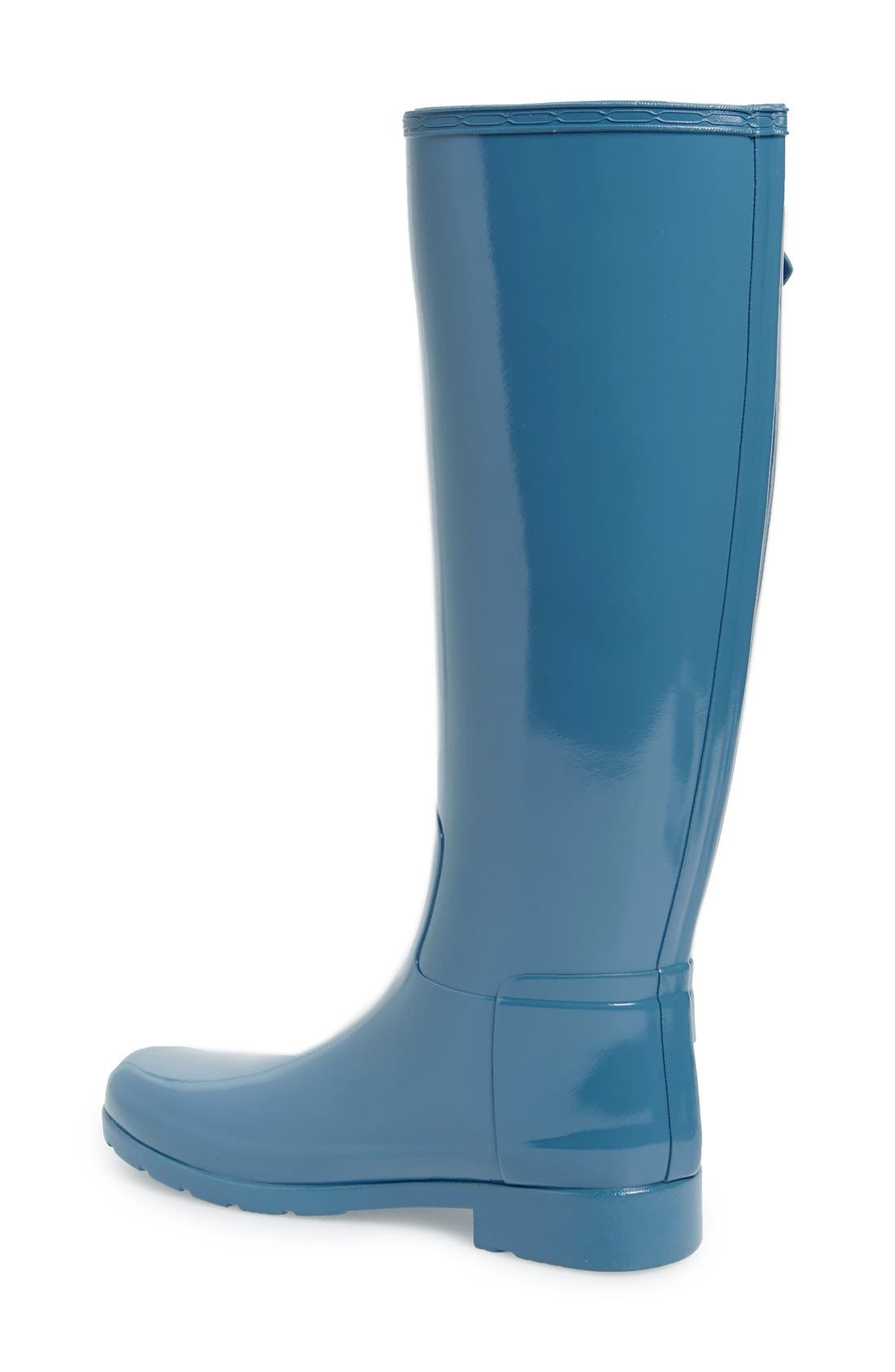 'Original Refined' High Gloss Rain Boot,                             Alternate thumbnail 38, color,