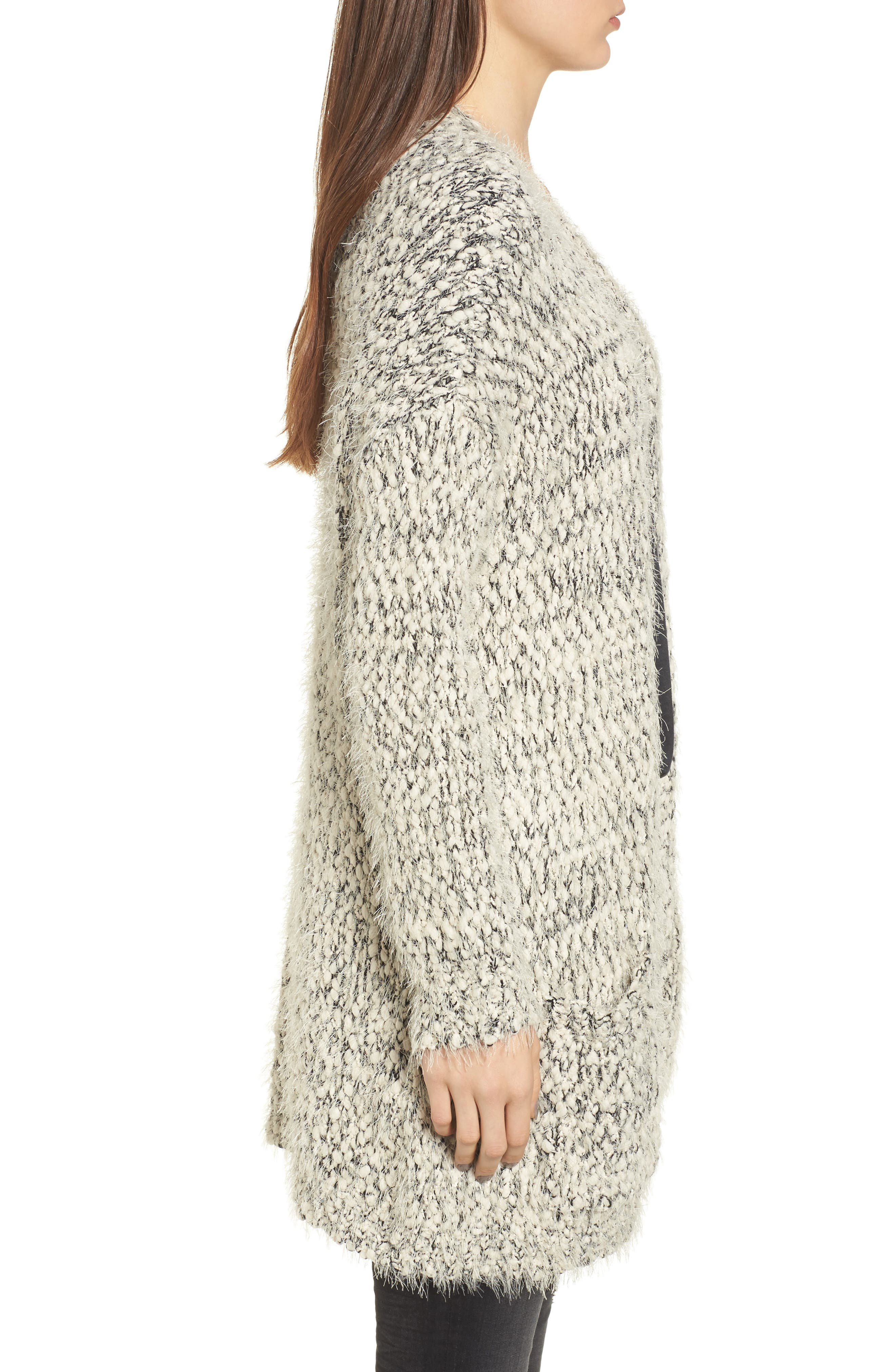 Textured Cardigan,                             Alternate thumbnail 3, color,