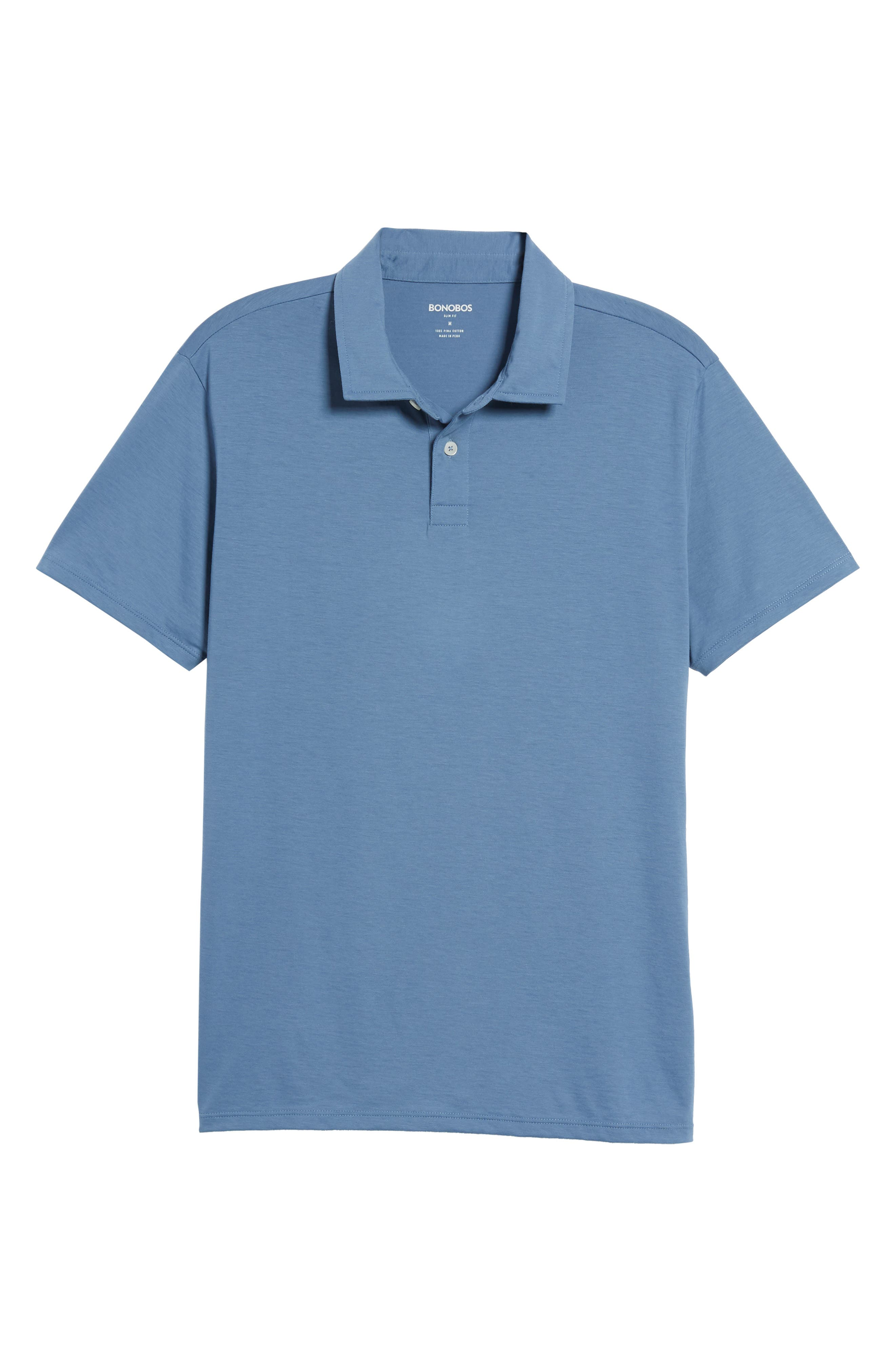 Refined Jersey Polo,                             Alternate thumbnail 46, color,
