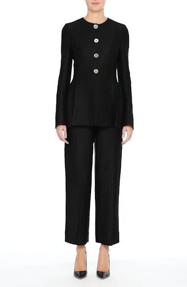 Linen & Silk Blend Tweed Jacket, video thumbnail