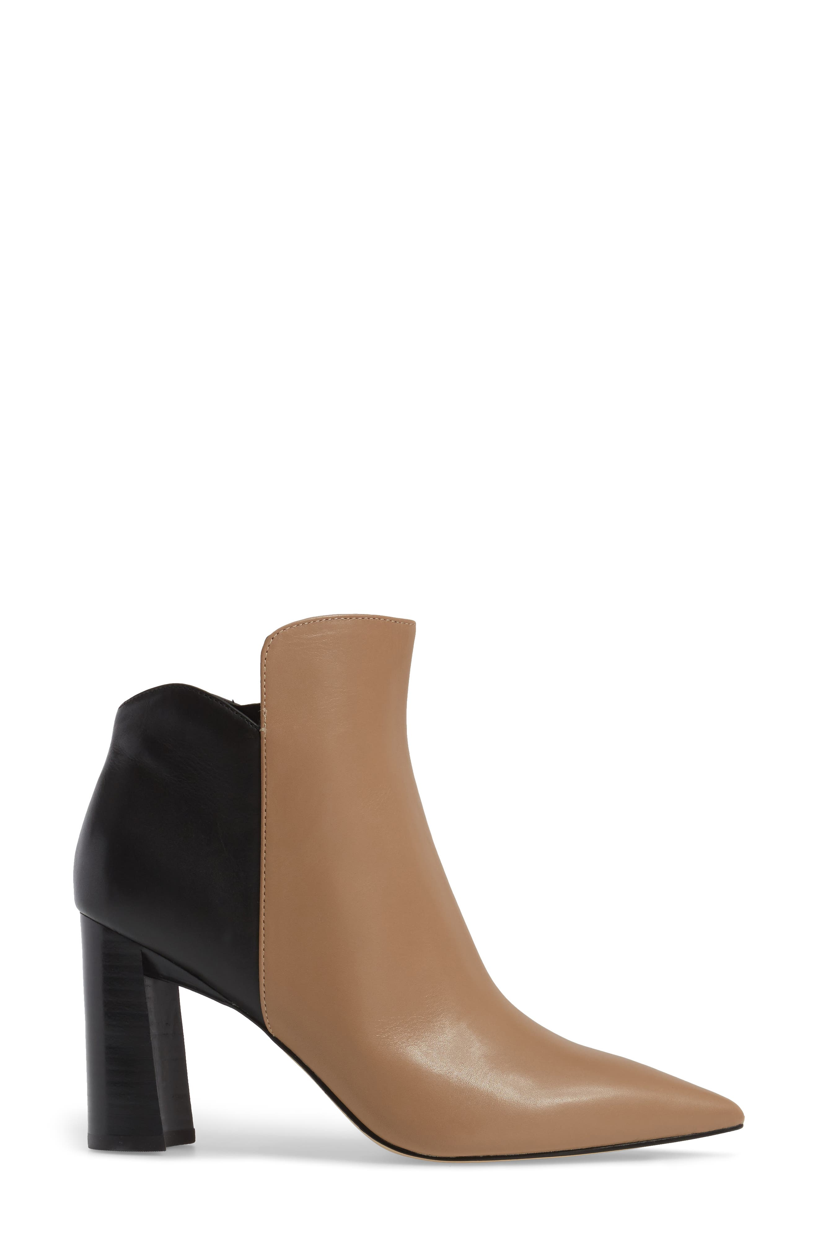 Harper Pointy Toe Bootie,                             Alternate thumbnail 8, color,