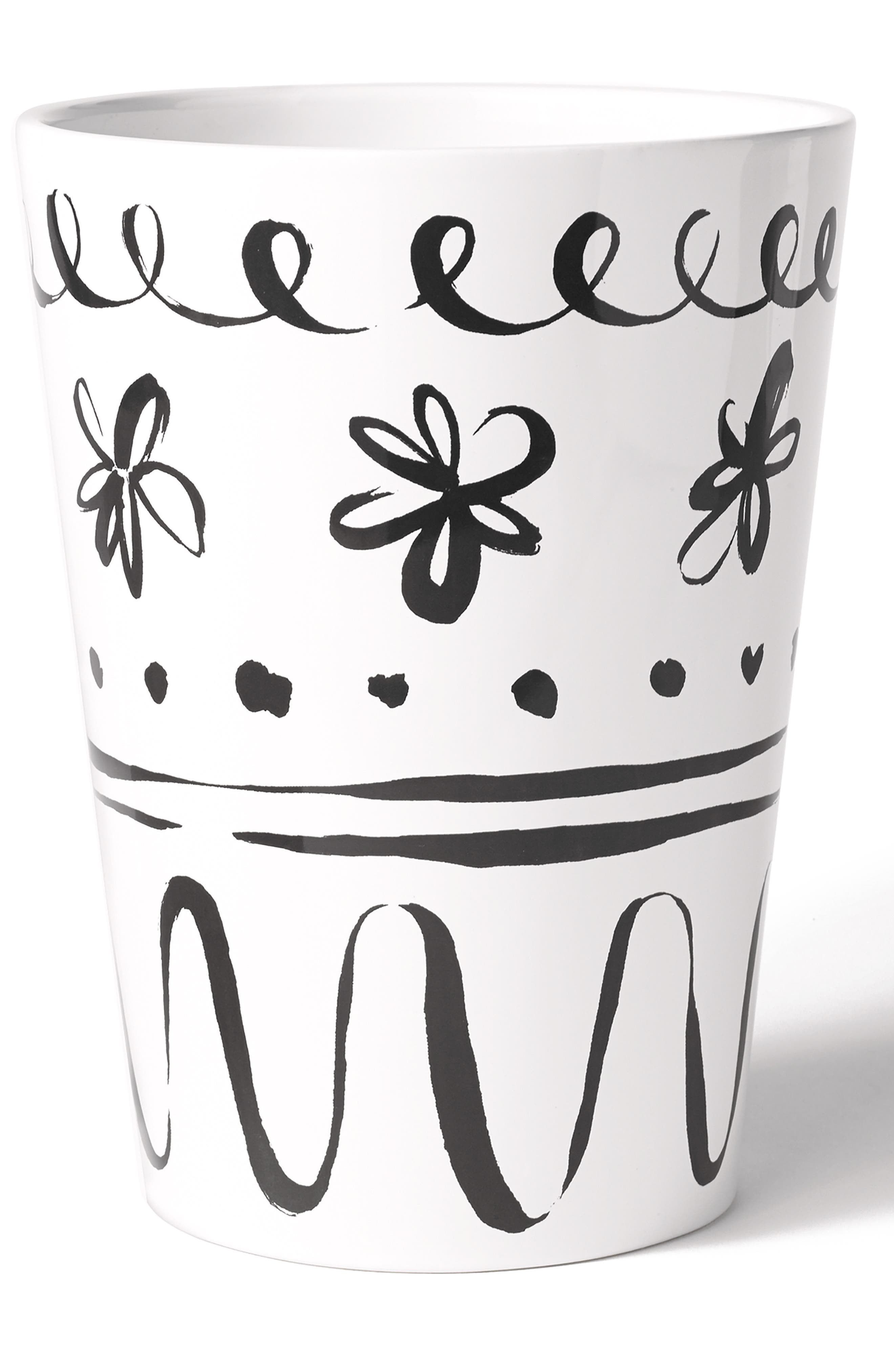 daisy place wastebasket,                         Main,                         color, 100