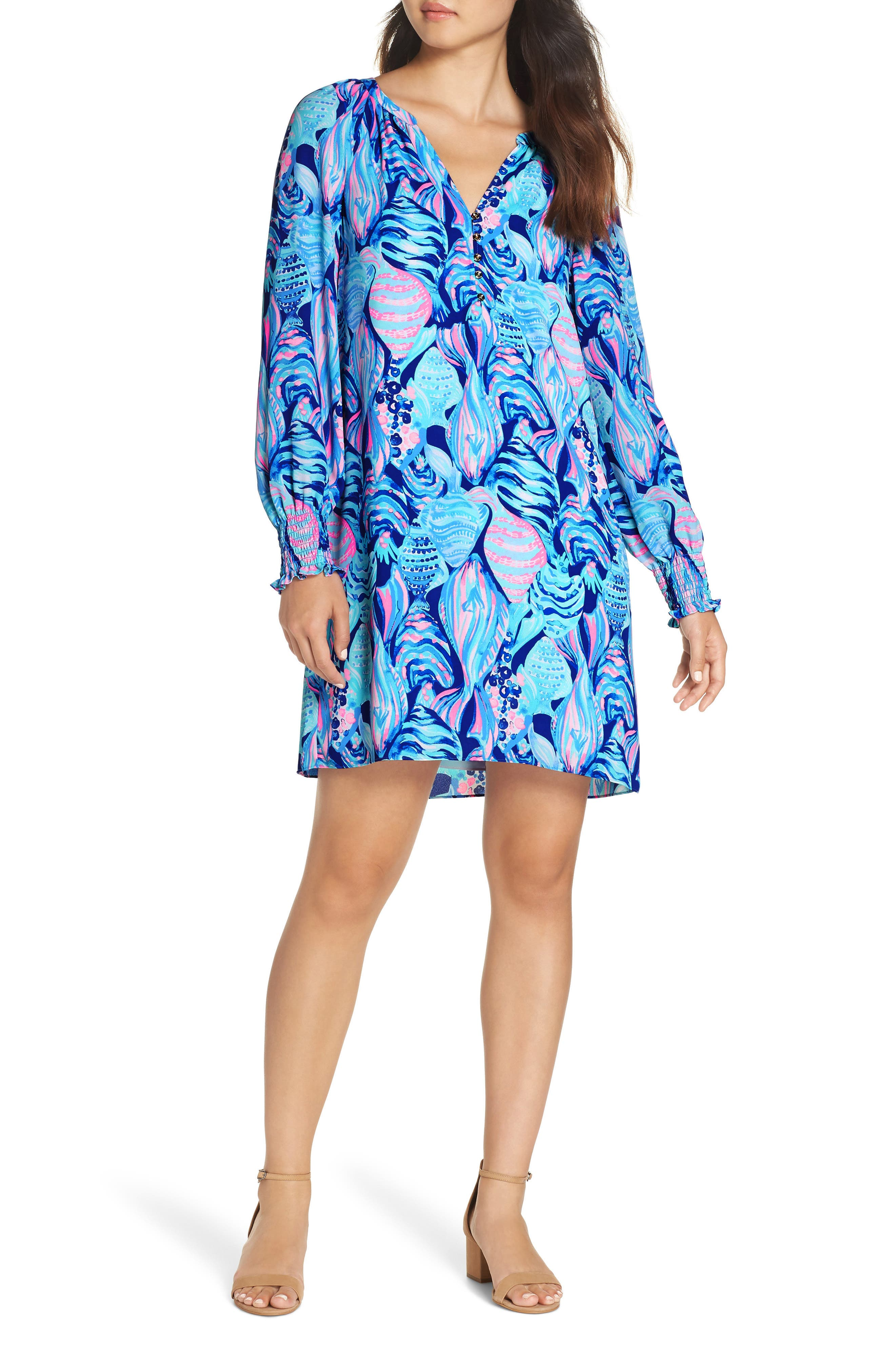 LILLY PULITZER<SUP>®</SUP>,                             Brynle Shift Dress,                             Main thumbnail 1, color,                             403