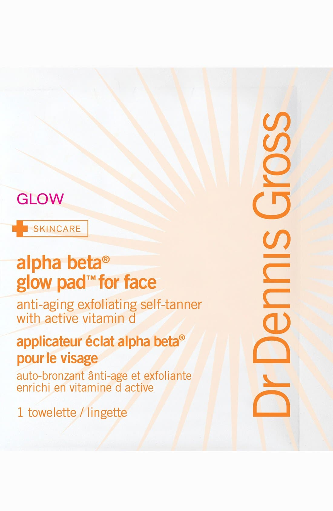 Alpha Beta<sup>®</sup> Glow Pad<sup>™</sup> for Face,                             Main thumbnail 1, color,                             NO COLOR