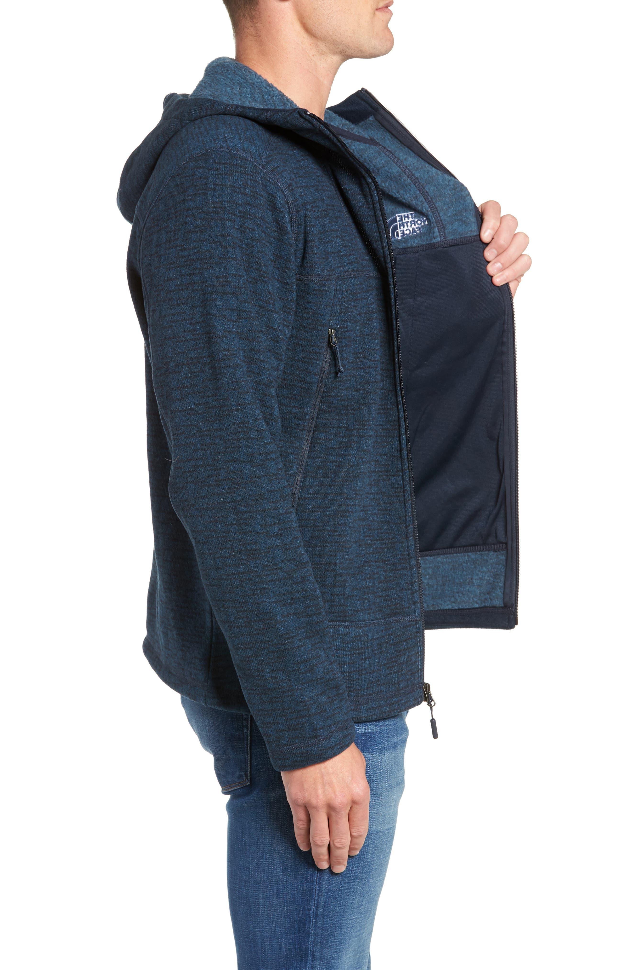 Gordon Lyons Alpine Sweater Fleece Hoodie,                             Alternate thumbnail 3, color,                             URBAN NAVY
