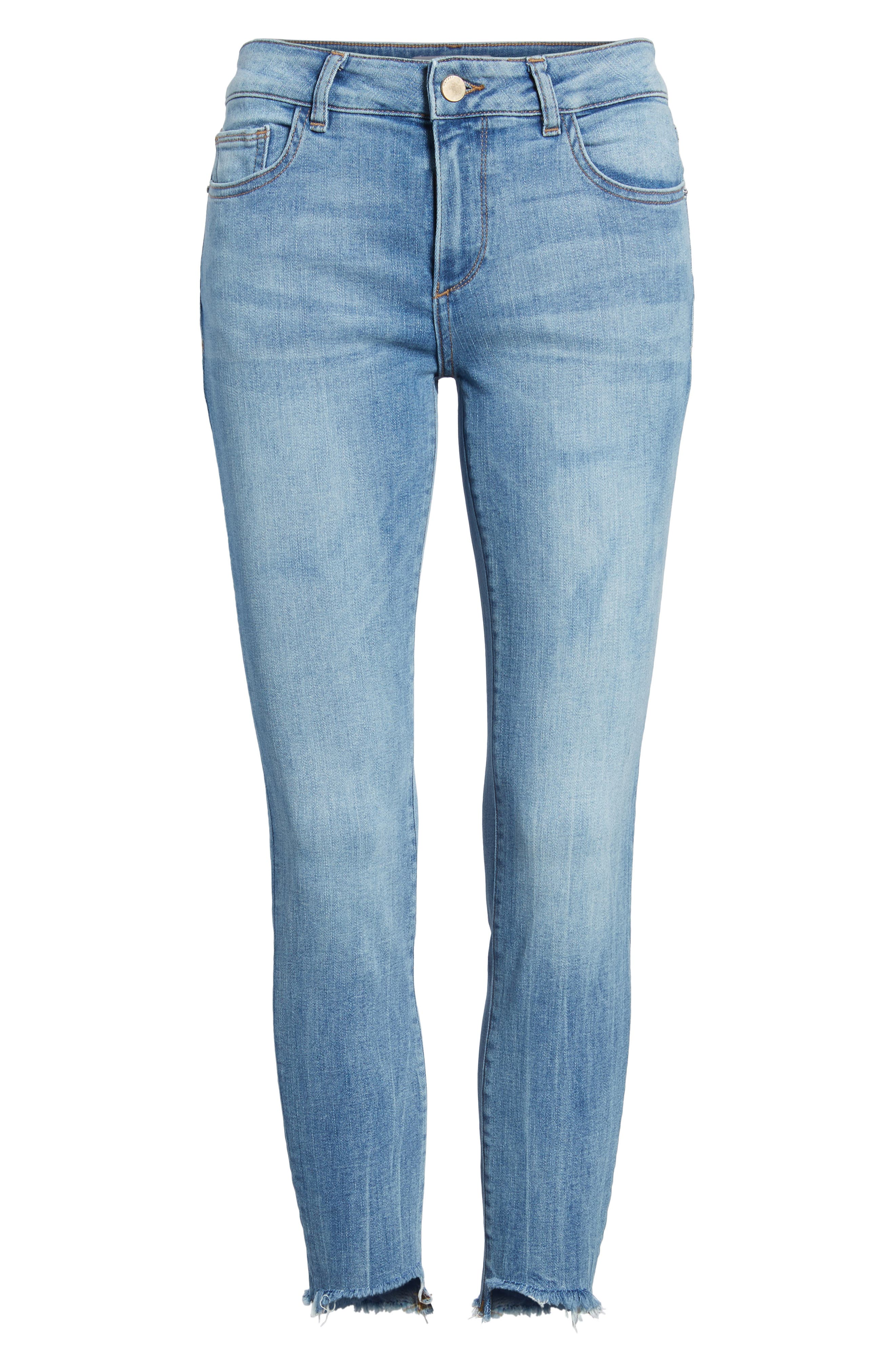 Florence Instasculpt Crop Skinny Jeans,                             Alternate thumbnail 7, color,                             429