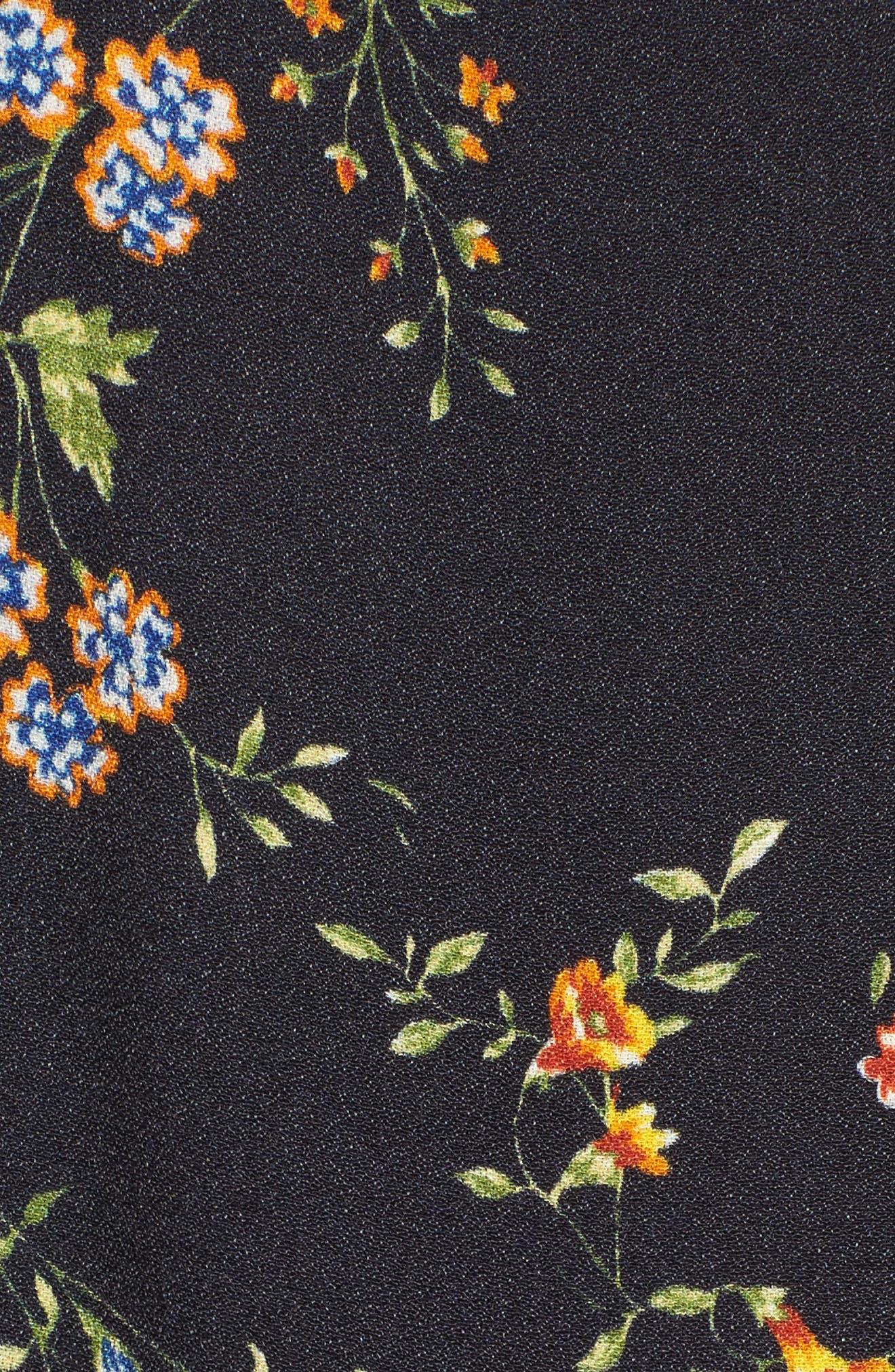 Chelsea Lattice Back Fit & Flare Dress,                             Alternate thumbnail 18, color,