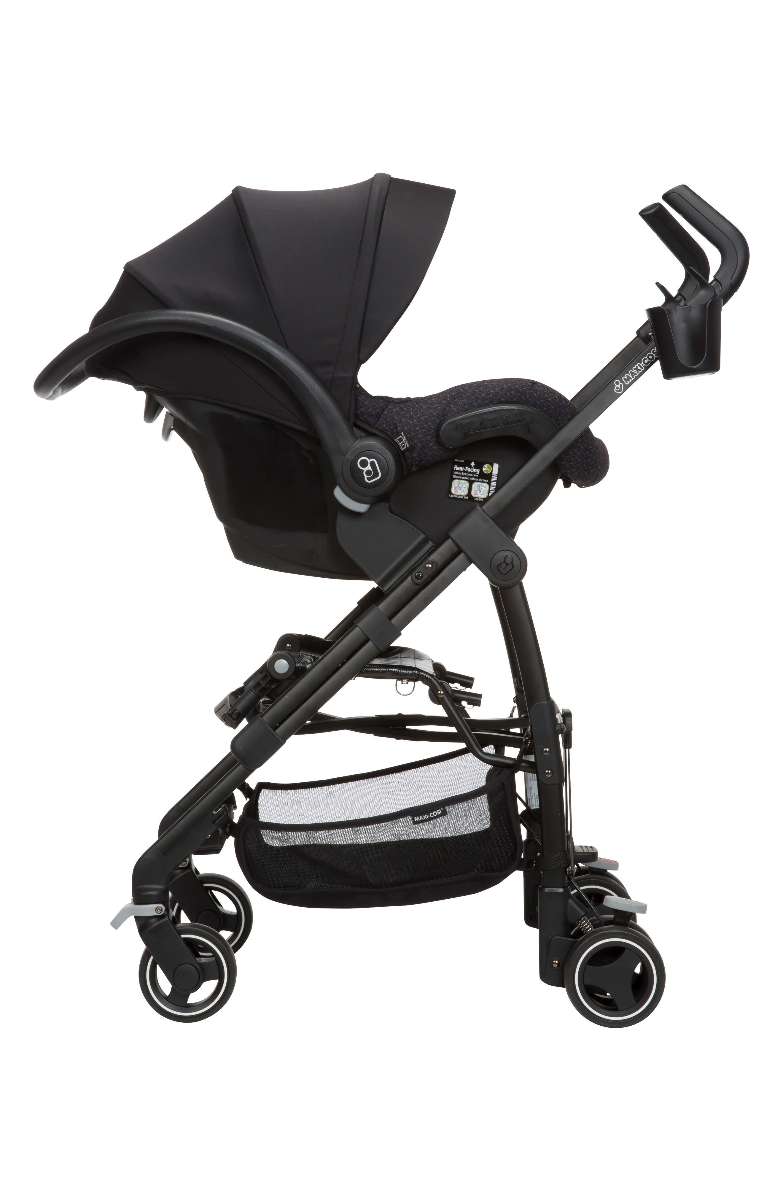 Mico Max 30 Infant Car Seat,                             Alternate thumbnail 2, color,                             BLACK CRYSTAL