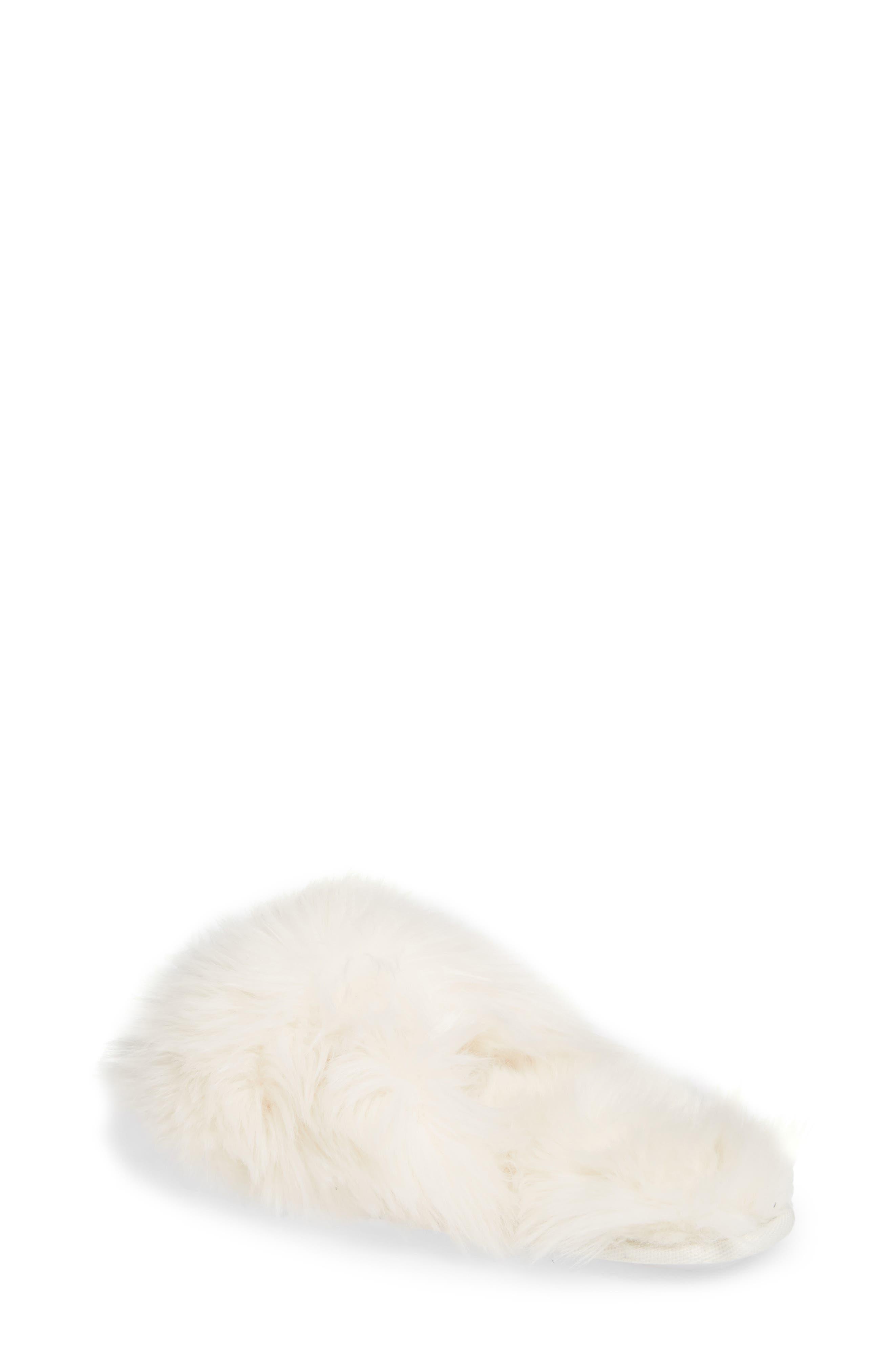 MAKE + MODEL,                             Cuddle Plush Faux Fur Scuff Slipper,                             Alternate thumbnail 2, color,                             900