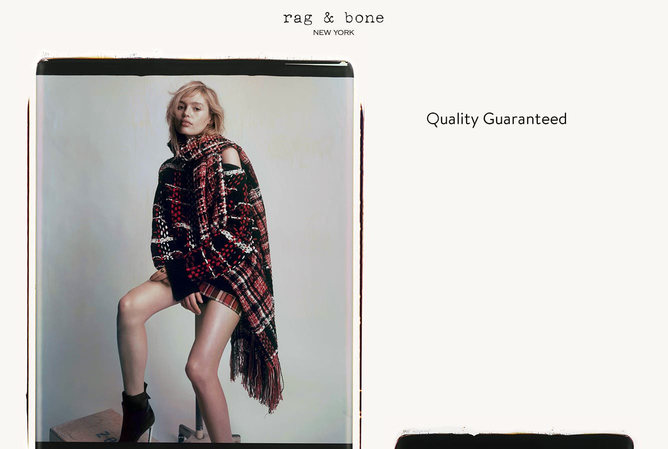 rag & bone clothing, shoes, handbags and accessories: quality guaranteed.