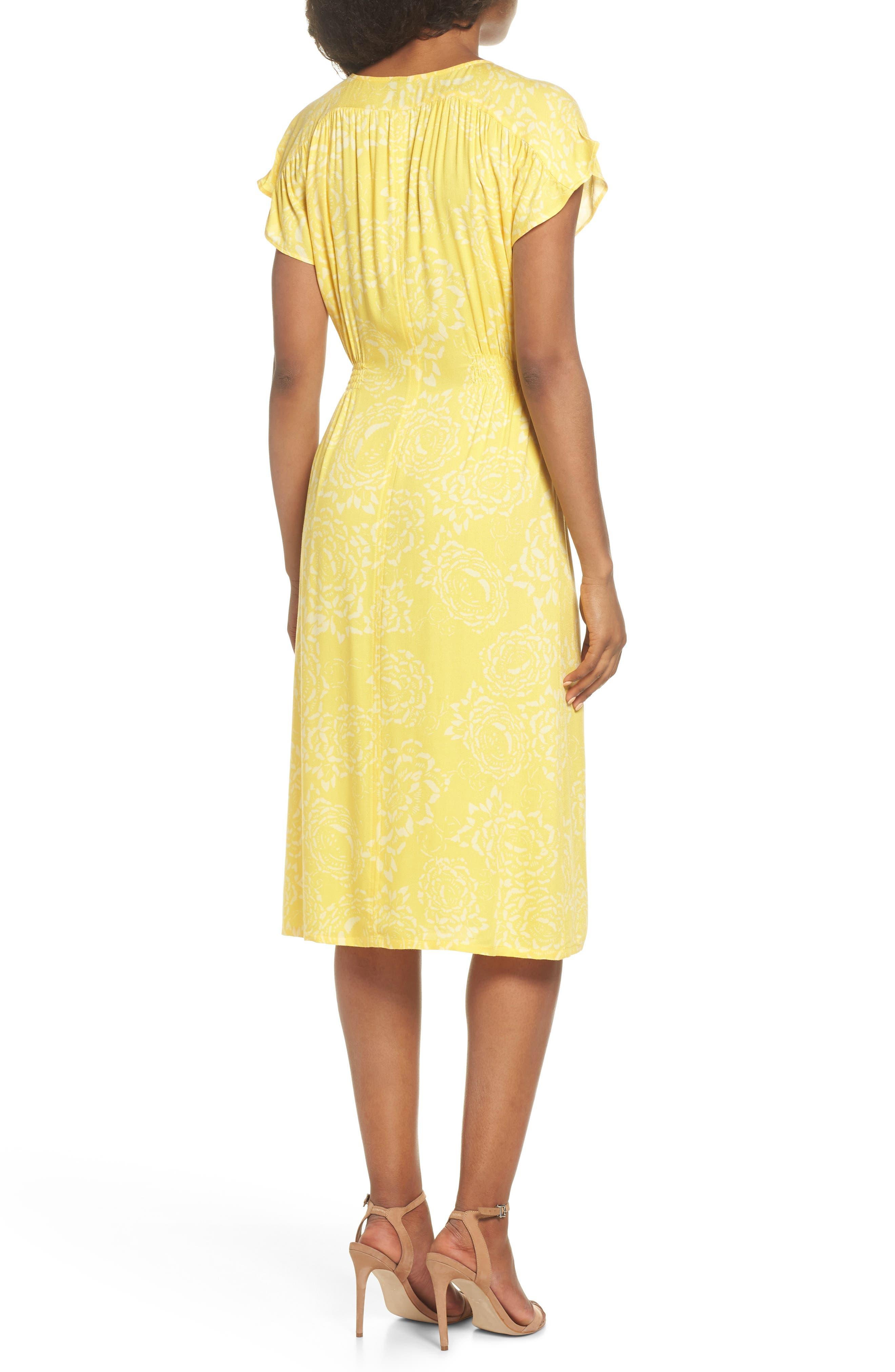 Lido Front Button Sheath Dress,                             Alternate thumbnail 2, color,                             707