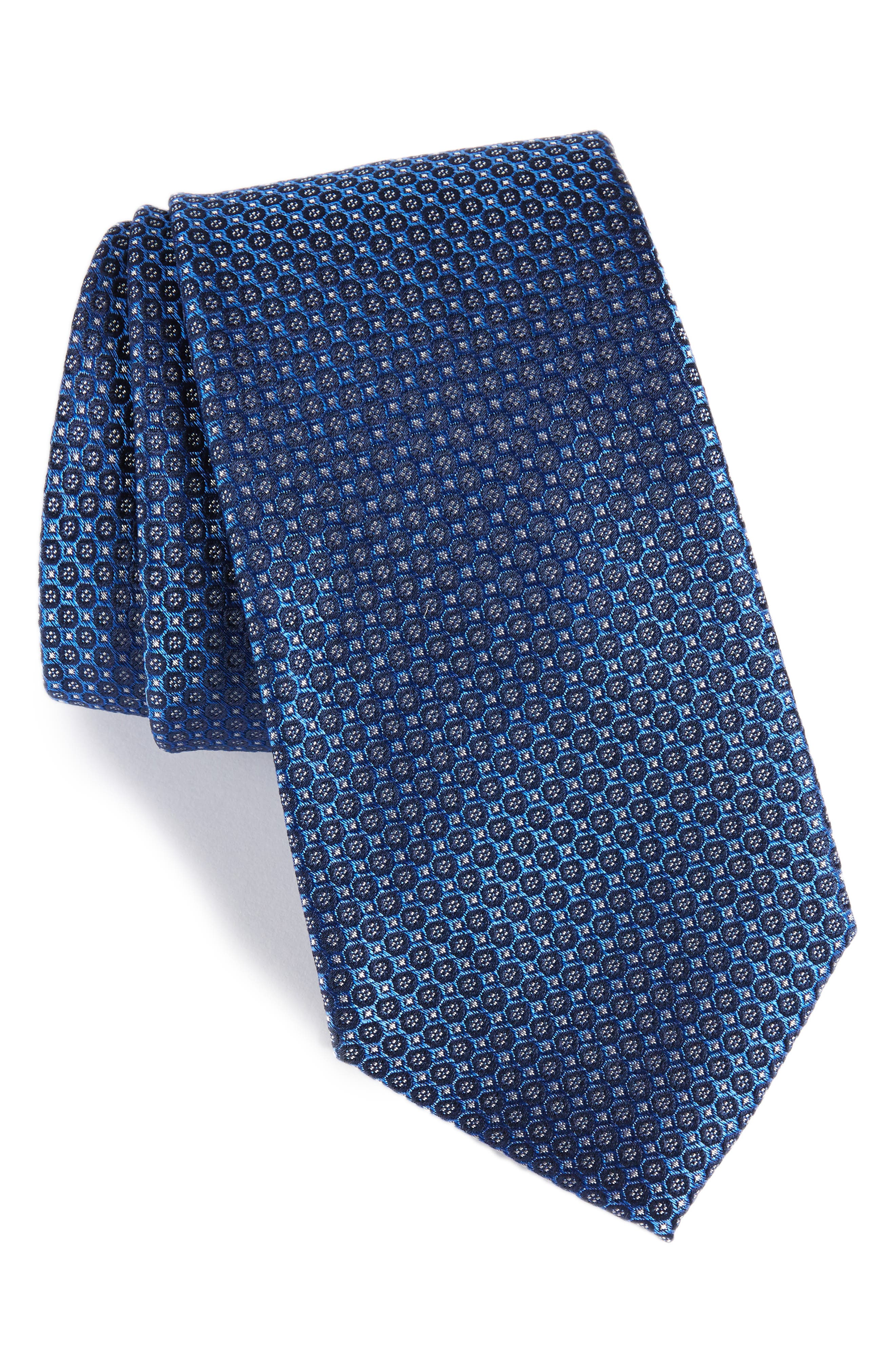 Park Ave Solid Silk Tie,                             Main thumbnail 2, color,
