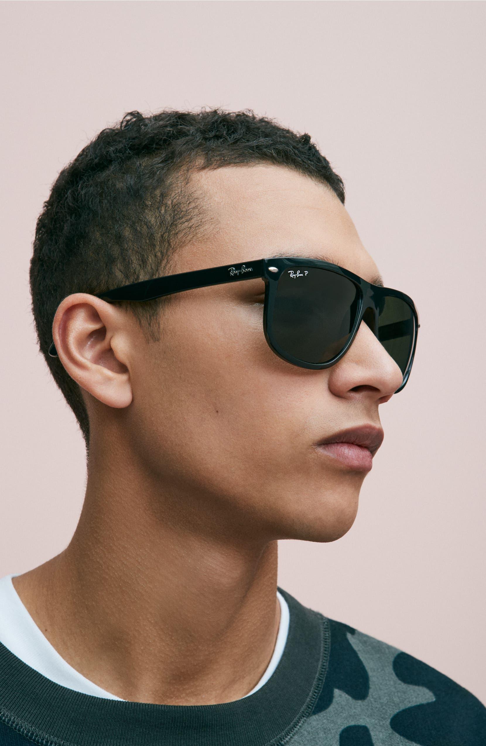 a28736d23a3 Ray-Ban  Boyfriend  60mm Polarized Sunglasses