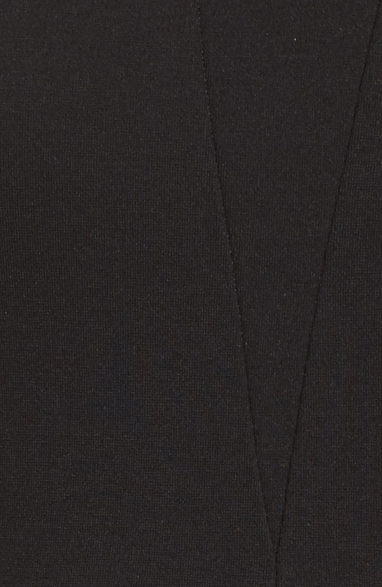 Isn't It Sweet Fit & Flare Dress,                             Alternate thumbnail 5, color,                             001