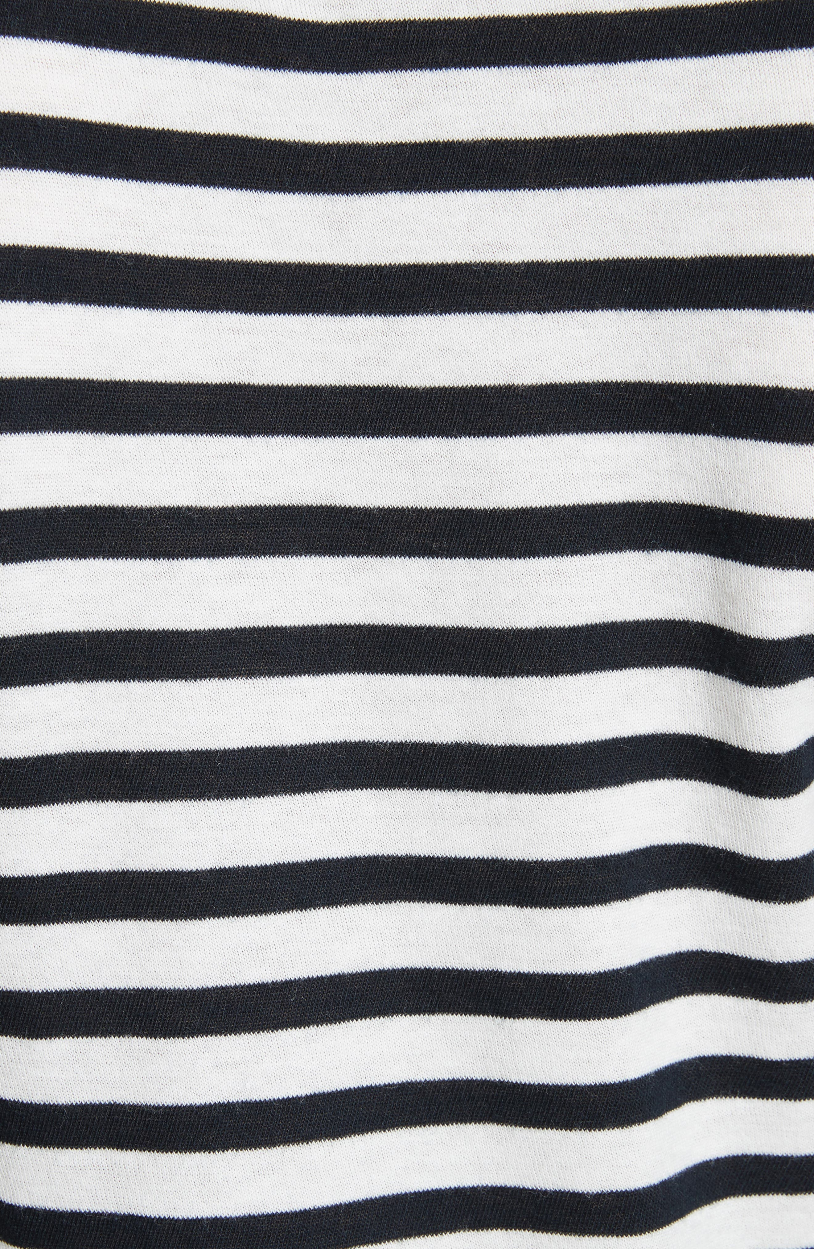 Bengal Stripe Tee,                             Alternate thumbnail 5, color,                             471