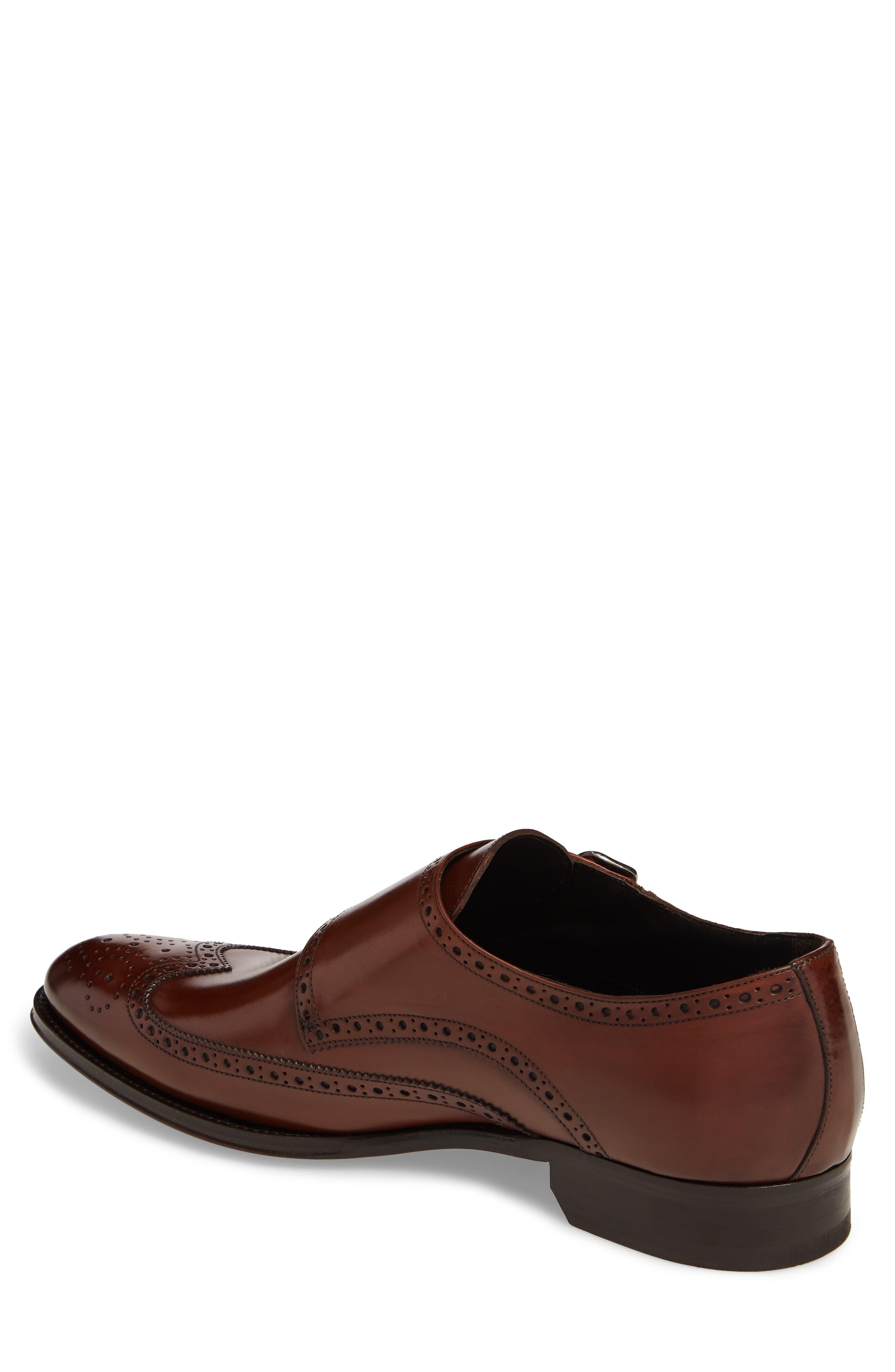 Pike Double Monk Strap Shoe,                             Alternate thumbnail 2, color,