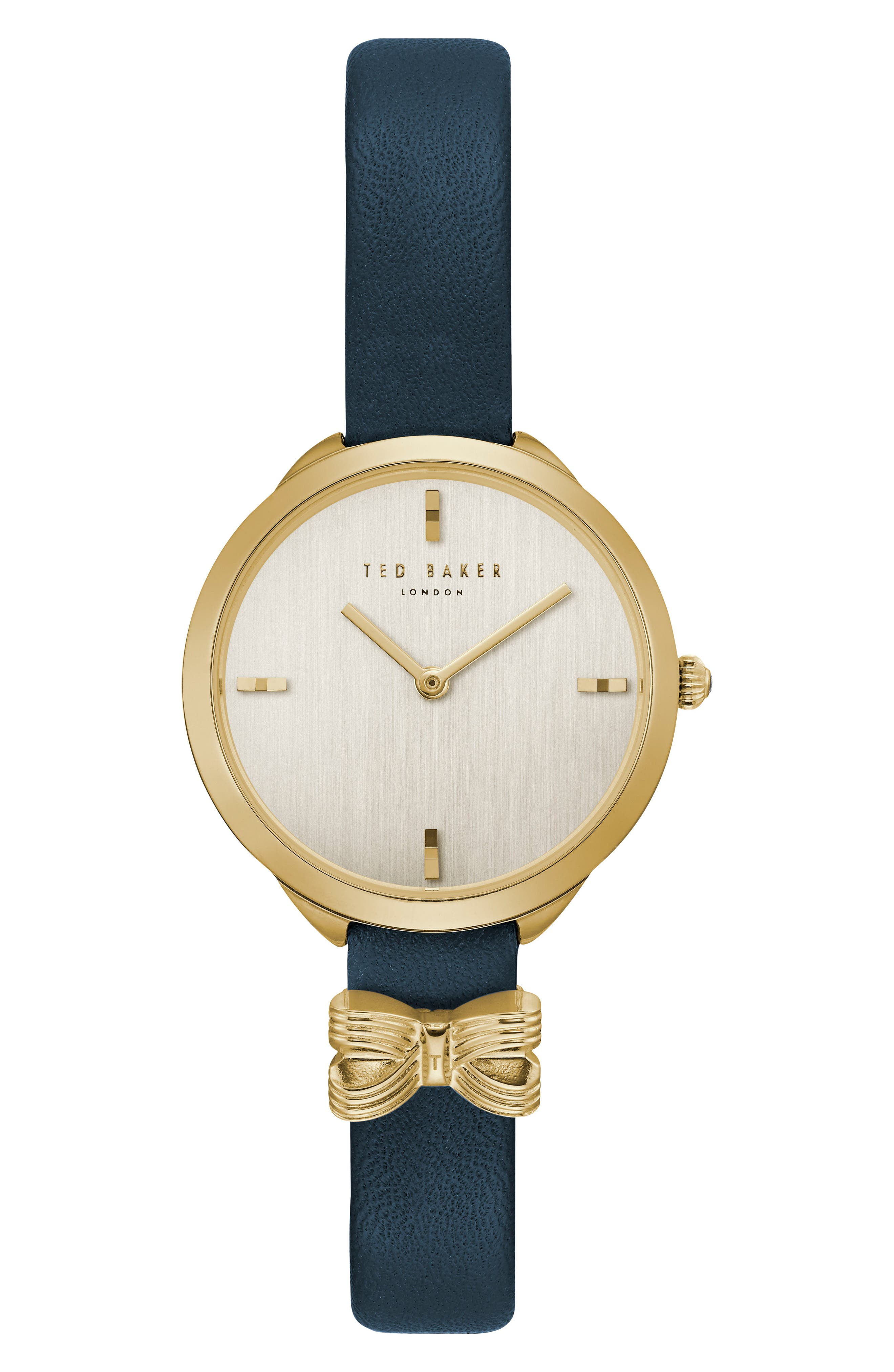 Elana Leather Strap Watch, 30mm,                             Main thumbnail 2, color,