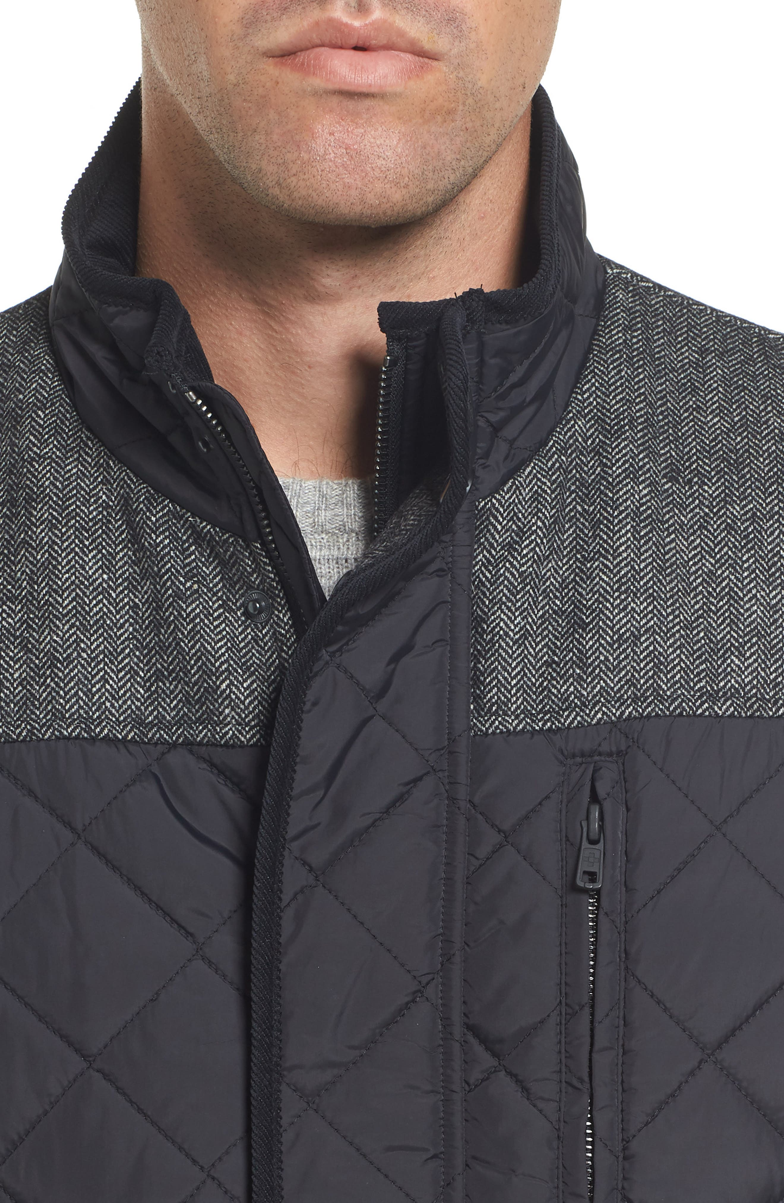 Quilted Vest,                             Alternate thumbnail 7, color,