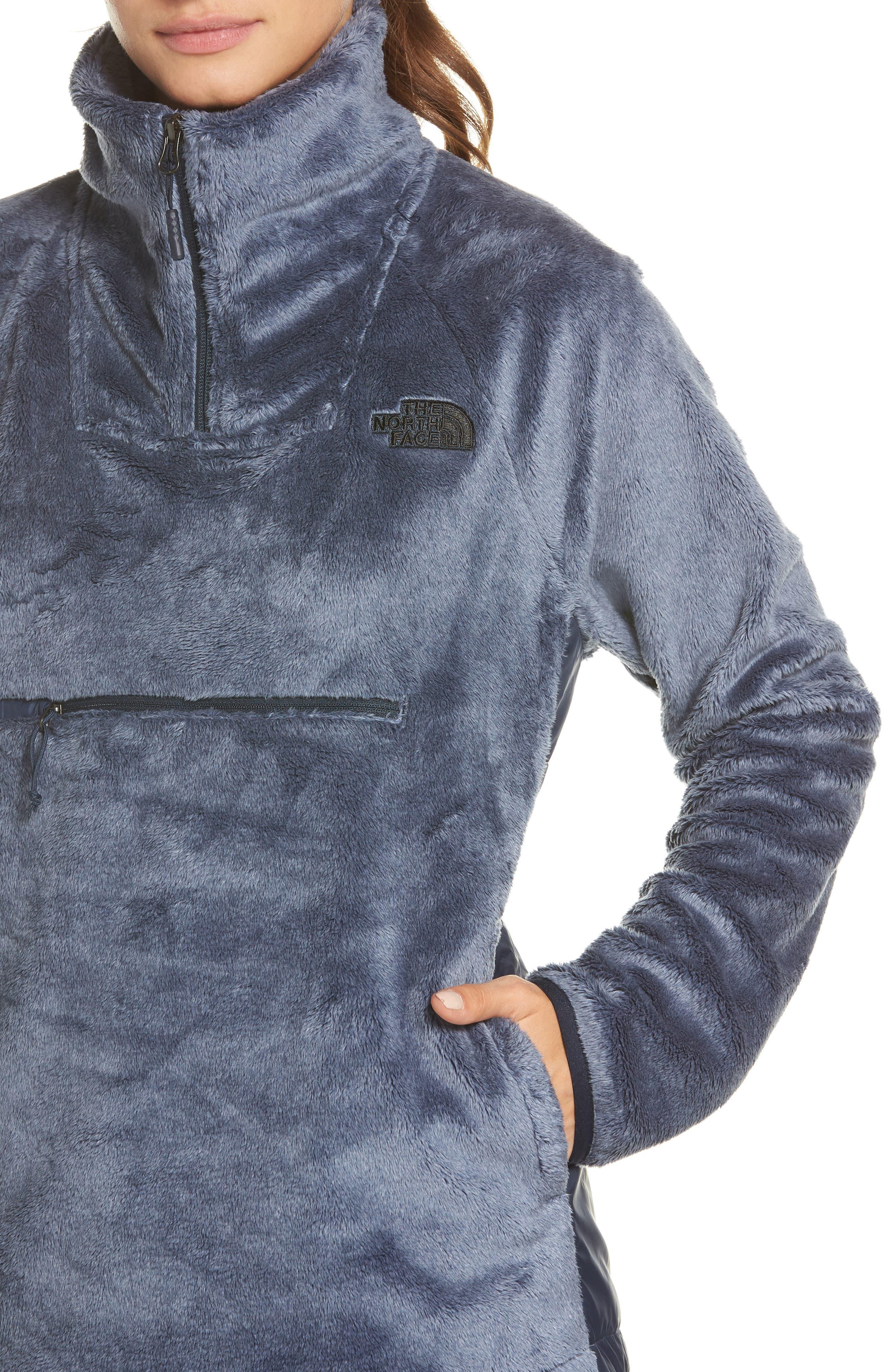 Osito Sport Hybrid Pullover Jacket,                             Alternate thumbnail 4, color,                             401