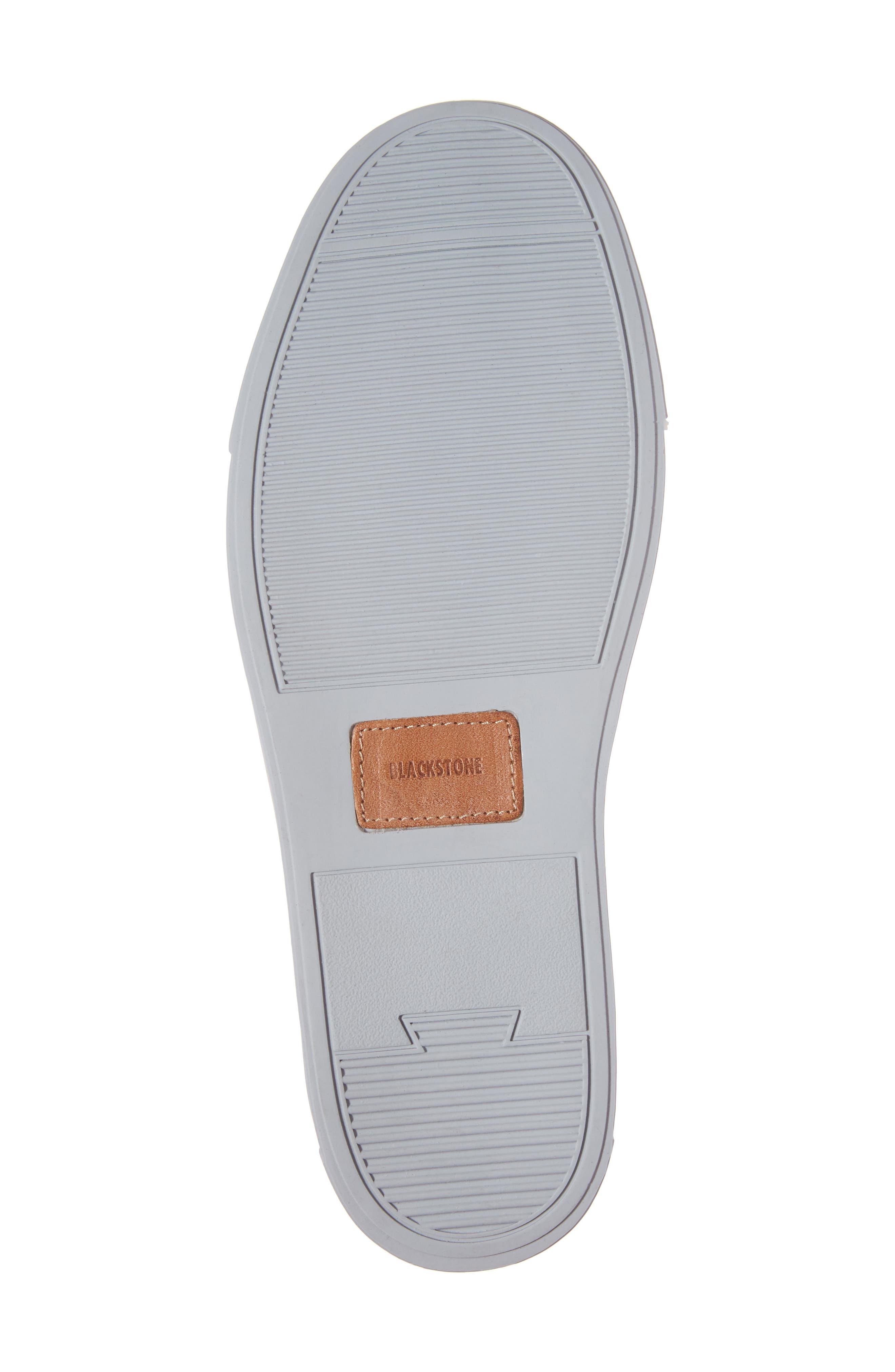 NM01 7 Eyelet Sneaker,                             Alternate thumbnail 6, color,                             BLACK LEATHER