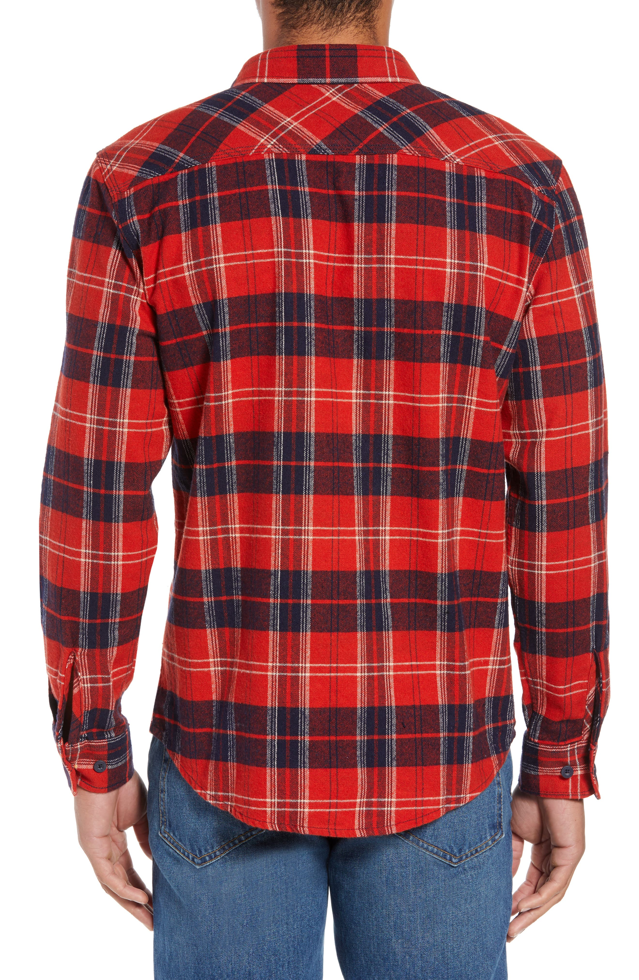 Bowery Flannel Shirt,                             Alternate thumbnail 22, color,