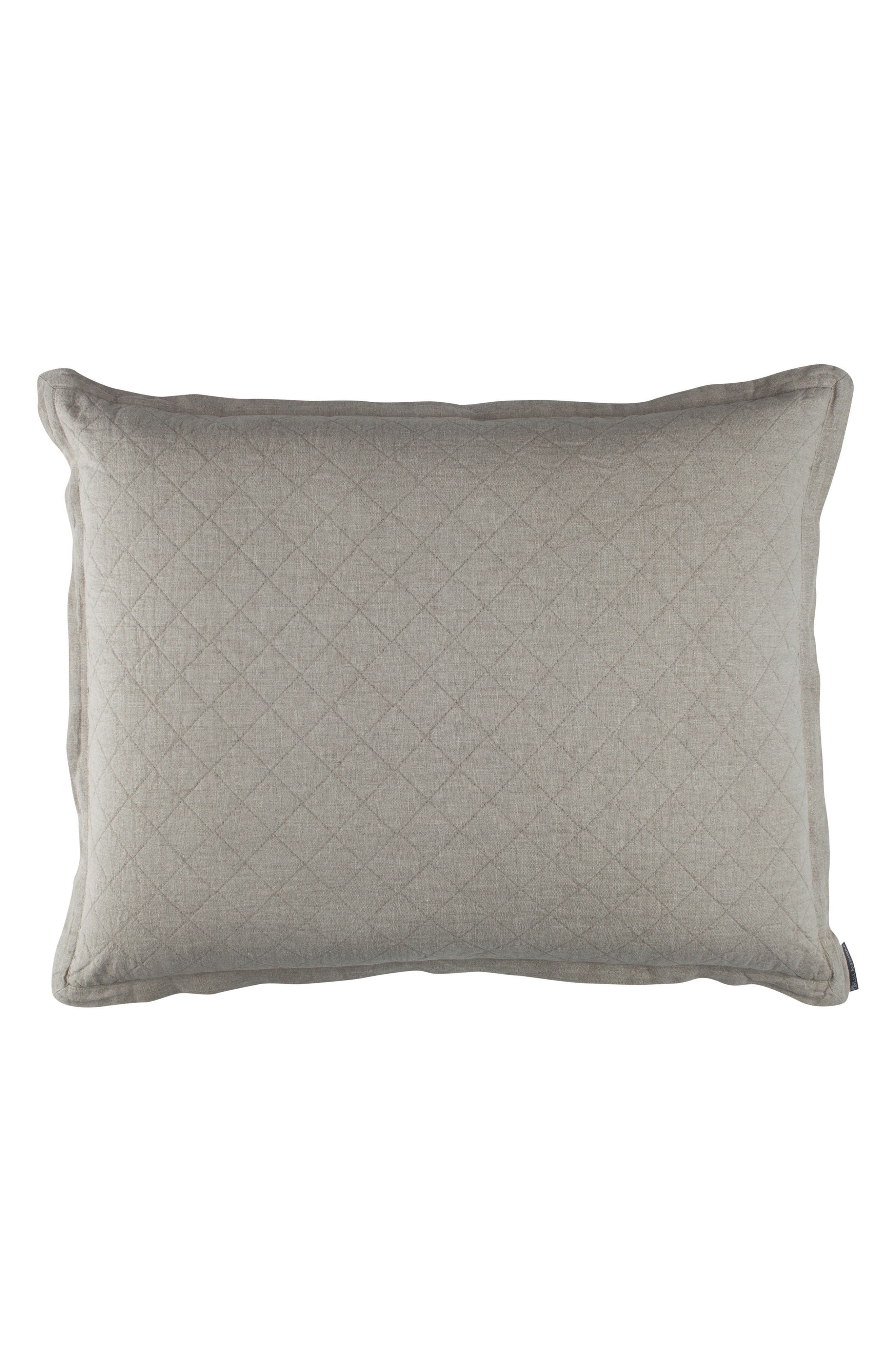 Emily Diamond Quilted Sham,                         Main,                         color, 020