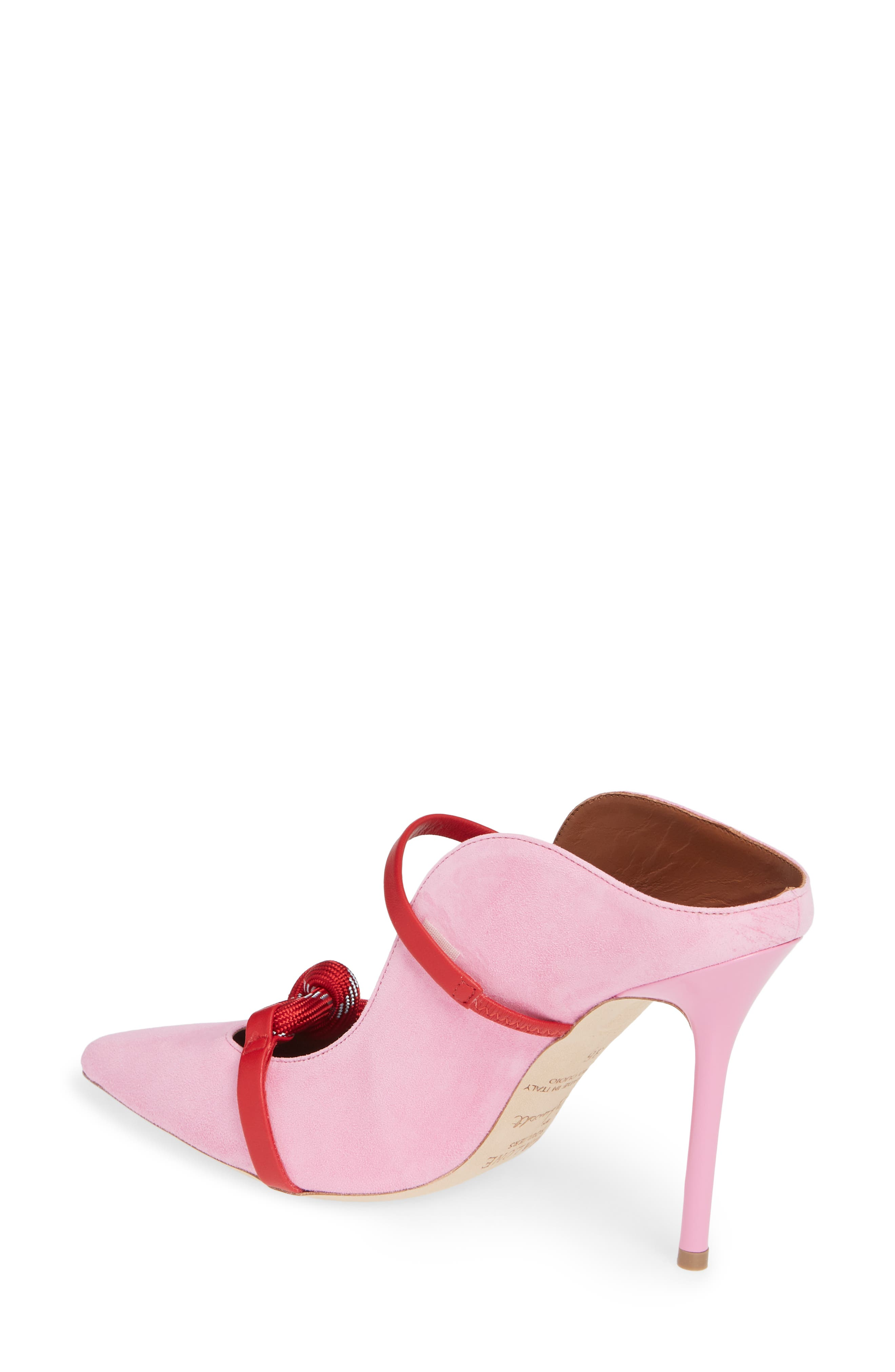MALONE SOULIERS,                             Rope Pump,                             Alternate thumbnail 2, color,                             BUBBLEGUM/ RED