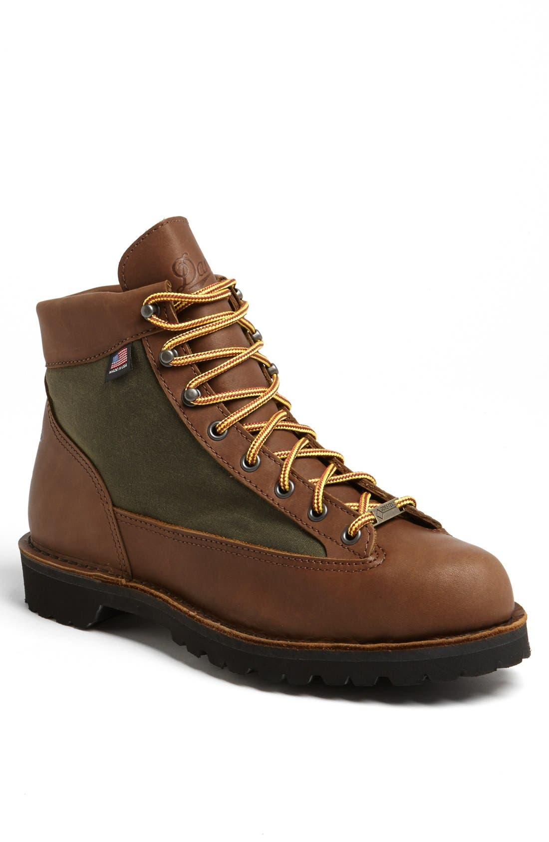 'Light Timber' Round Toe Boot, Main, color, 200
