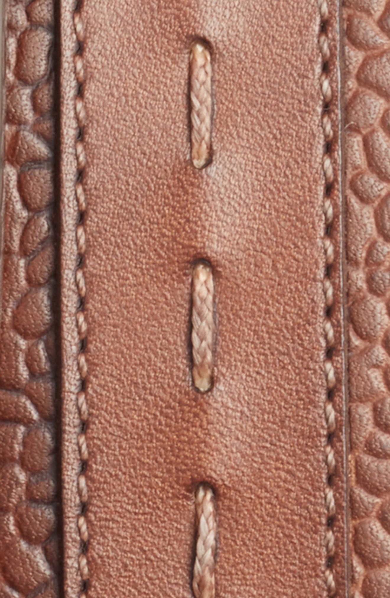 Leather Belt,                             Alternate thumbnail 4, color,