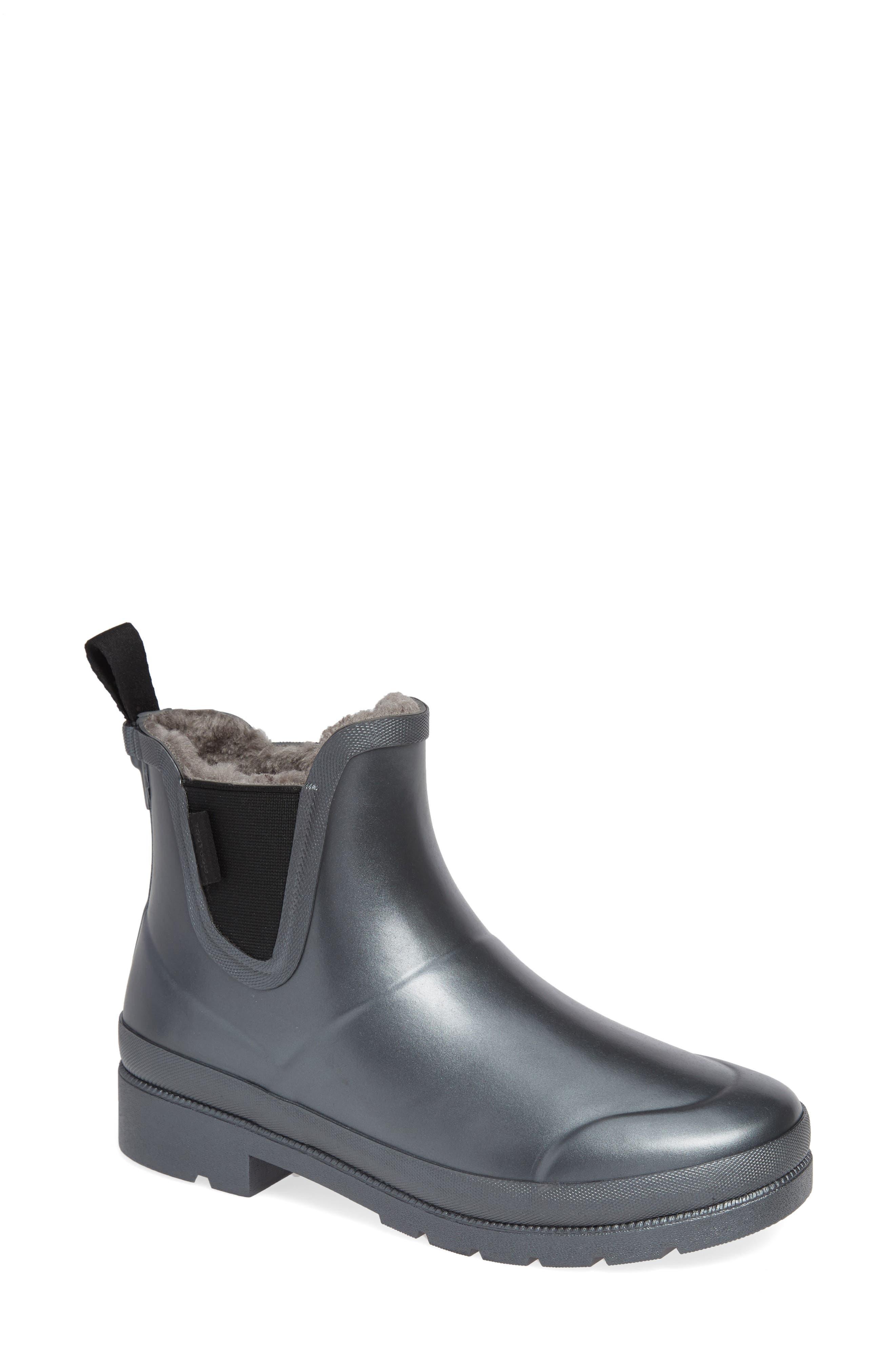 Tretorn Chelsea Rain Boot, Metallic