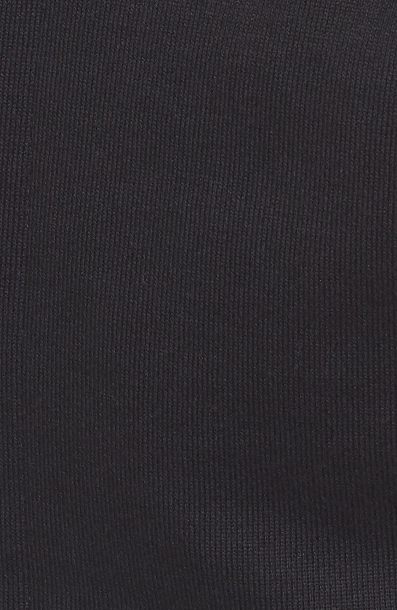 Fleece Zip Sweatshirt,                             Alternate thumbnail 5, color,                             001
