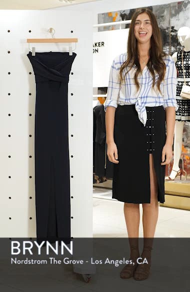 Own the Night Strapless Maxi Dress, sales video thumbnail