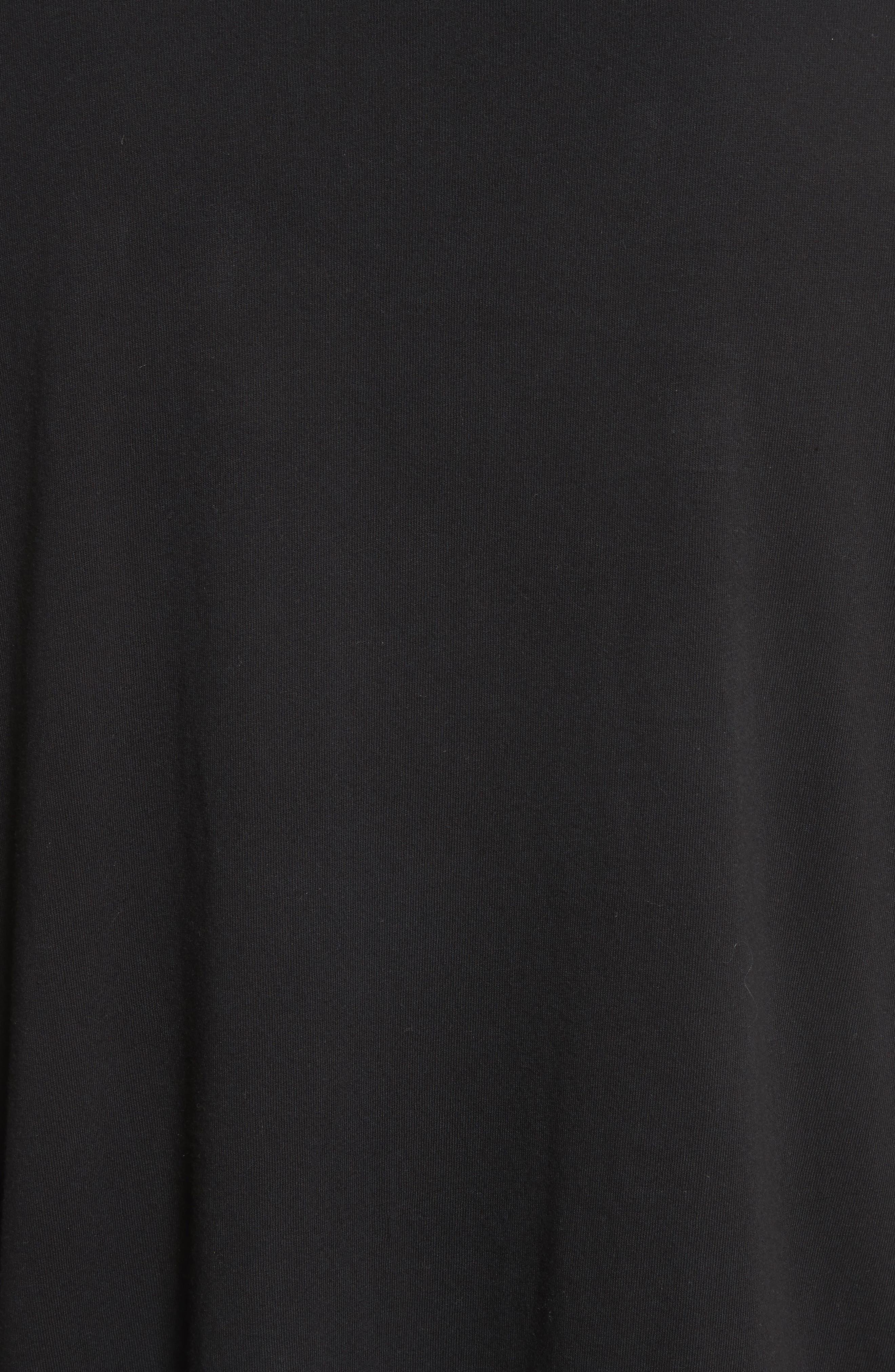 Bottom Stripe T-Shirt,                             Alternate thumbnail 5, color,                             001