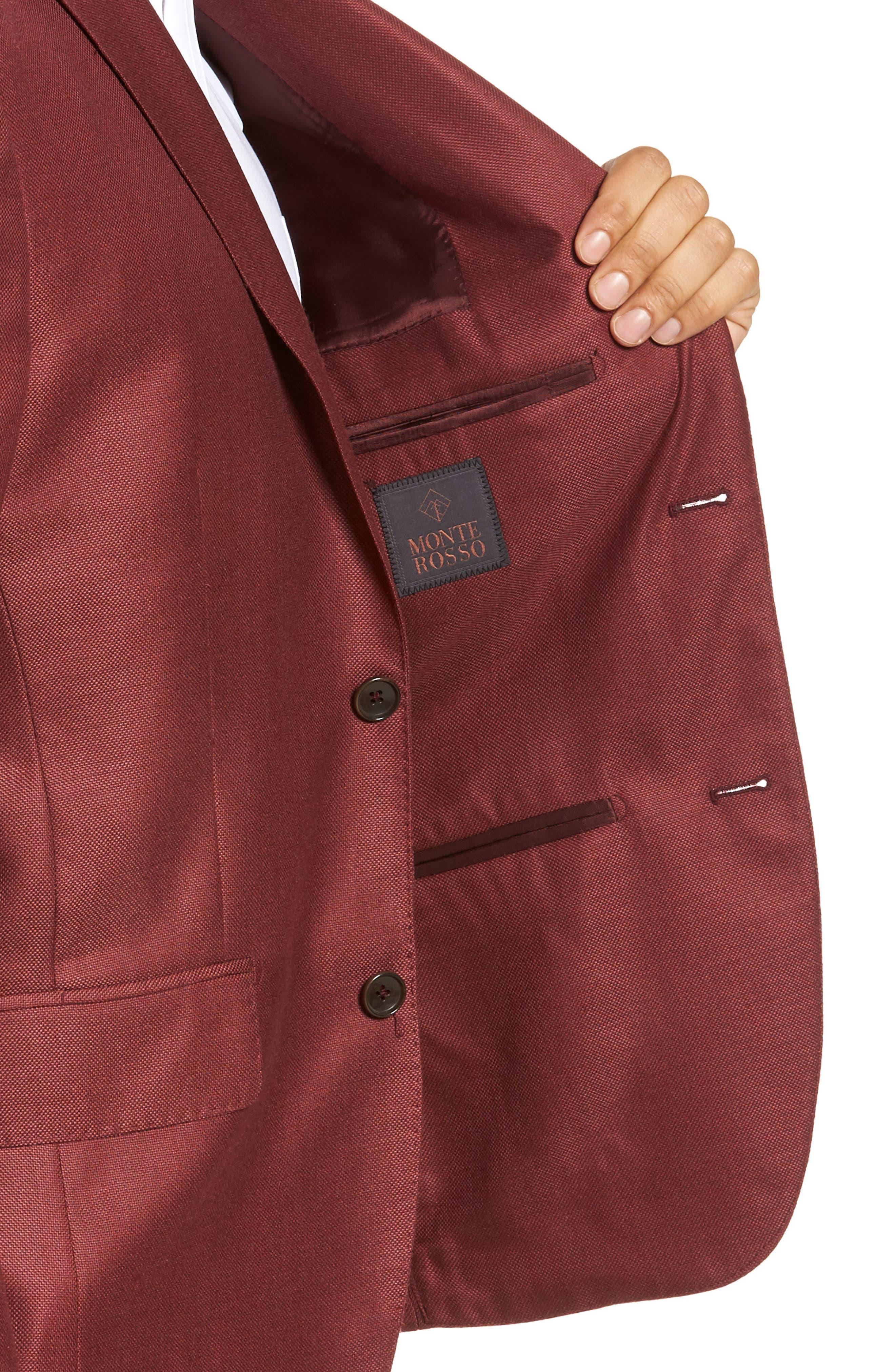Trim Fit Cashmere & Silk Blazer,                             Alternate thumbnail 16, color,