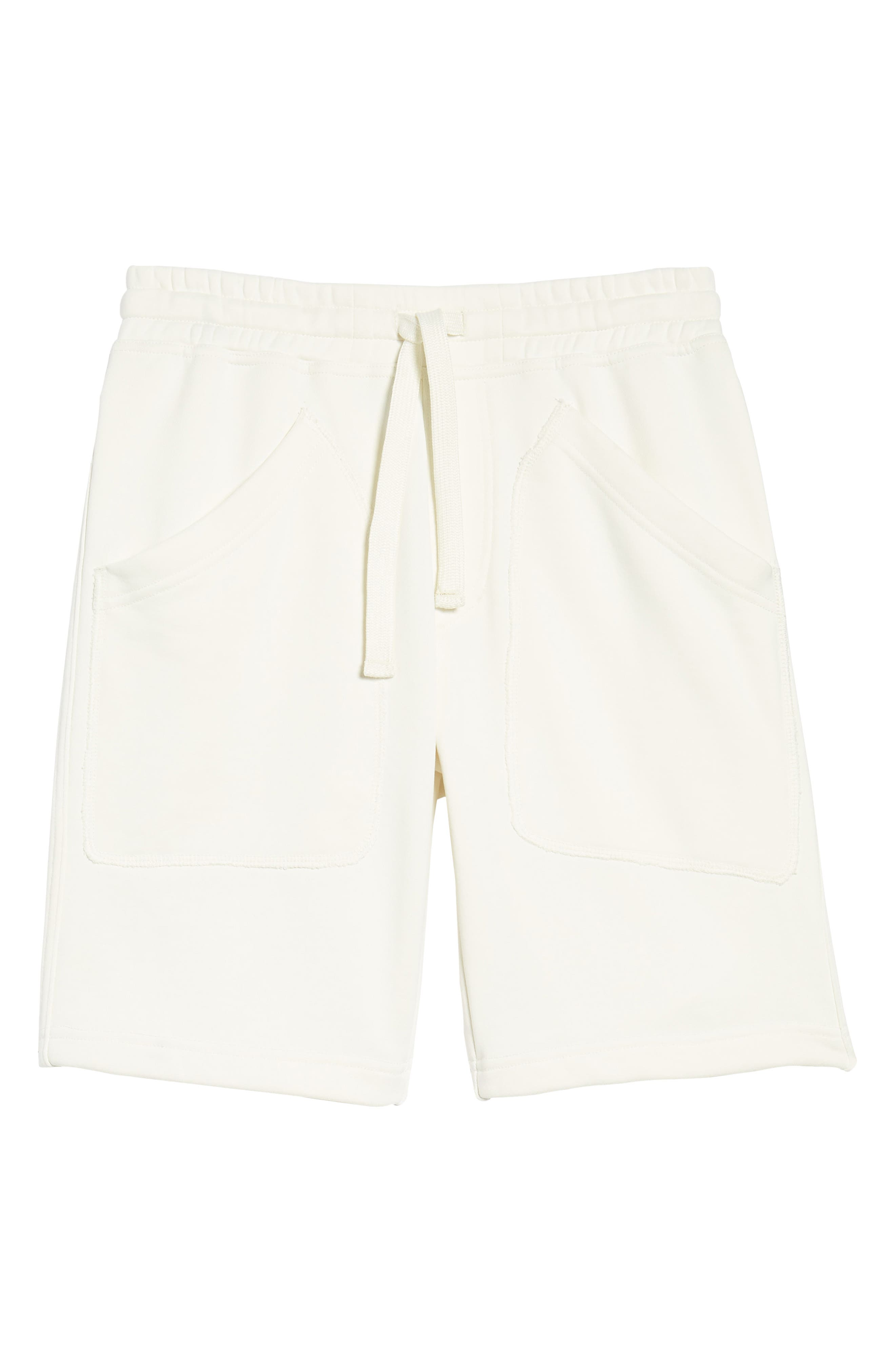 Lux French Terry Shorts,                             Alternate thumbnail 6, color,                             250