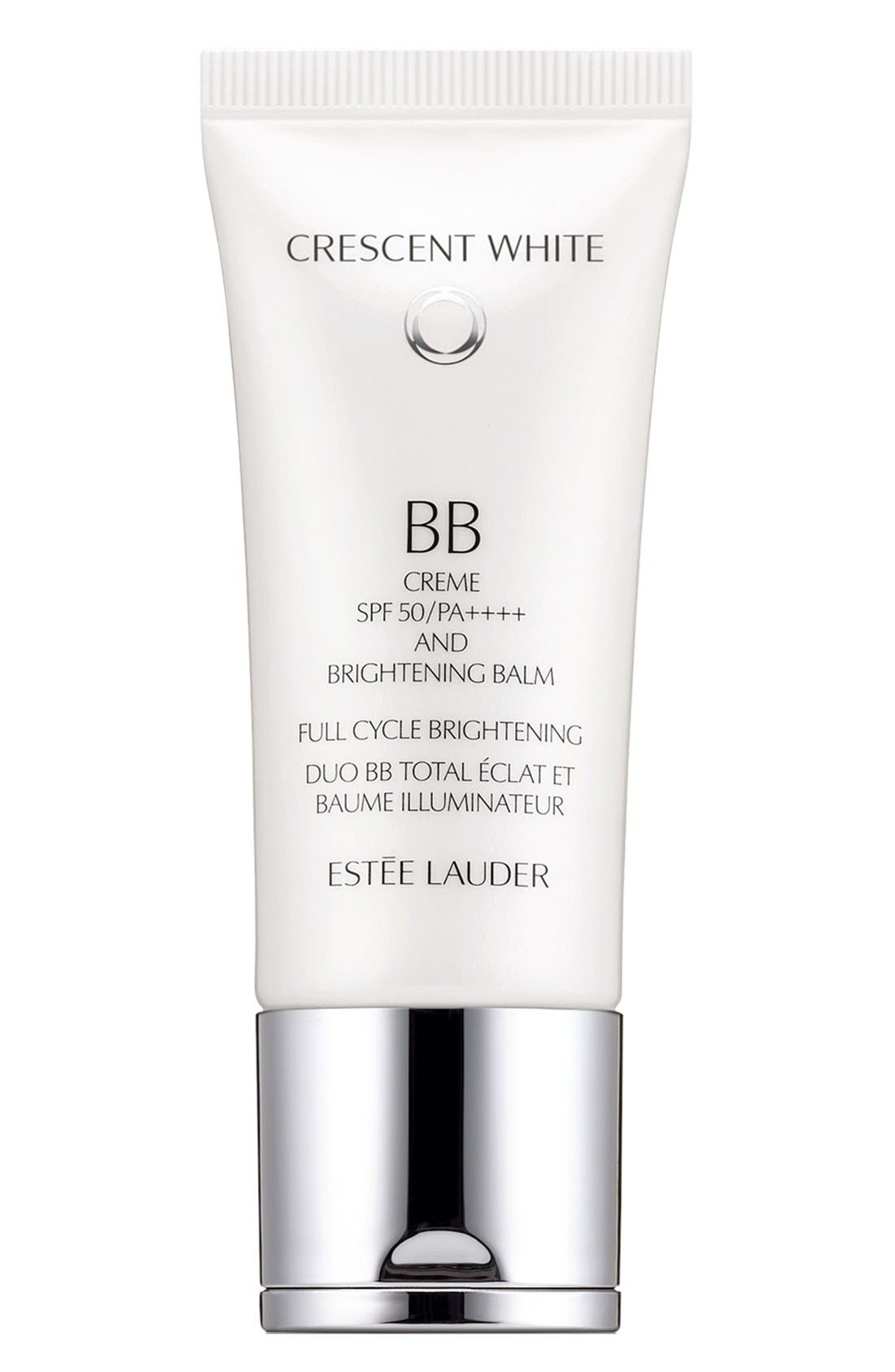 'Crescent White' Full Cycle BB Créme & Brightening Balm SPF 50,                             Main thumbnail 1, color,                             000