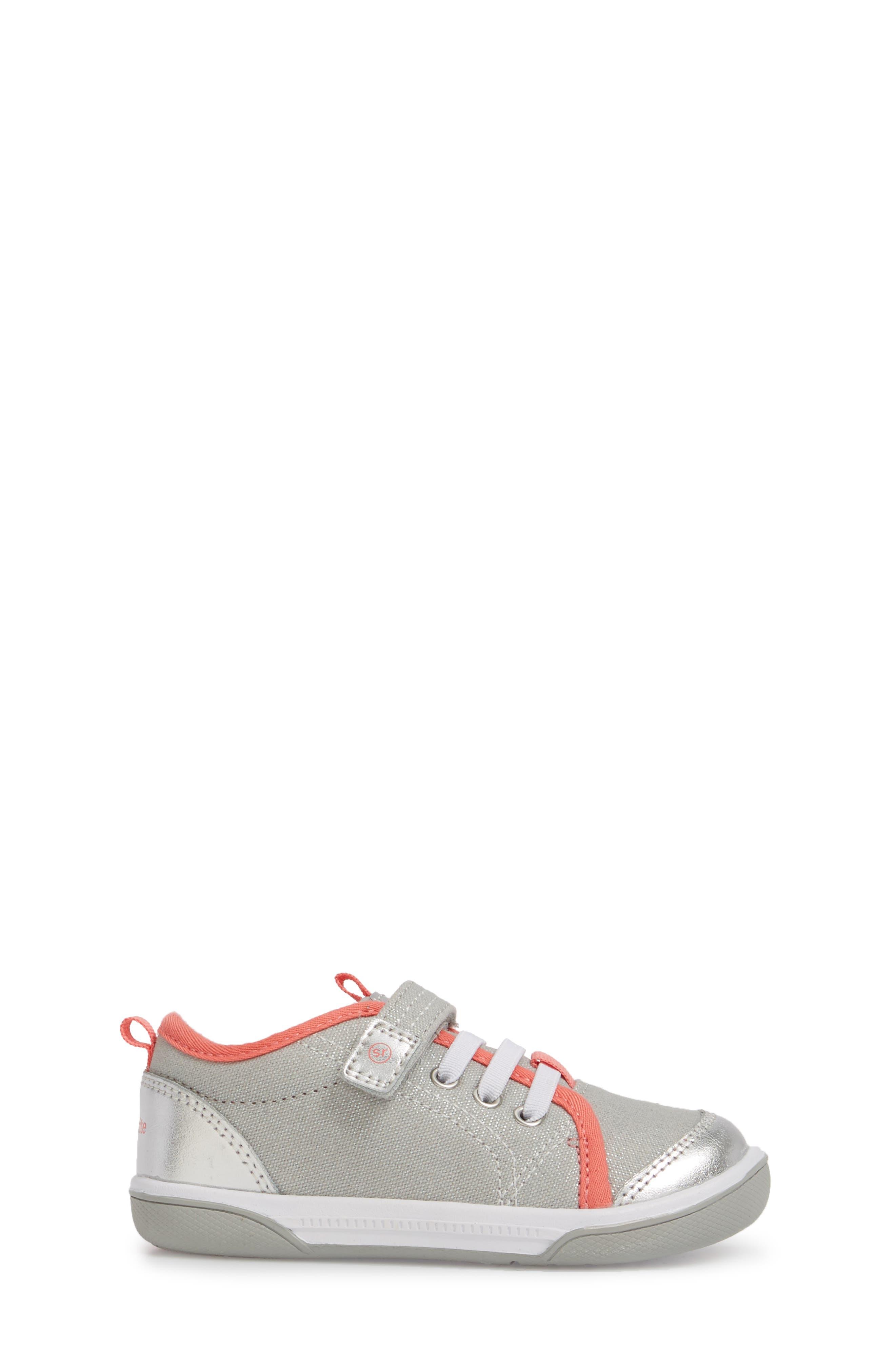Dakota Sneaker,                             Alternate thumbnail 3, color,                             LIGHT GREY CANVAS