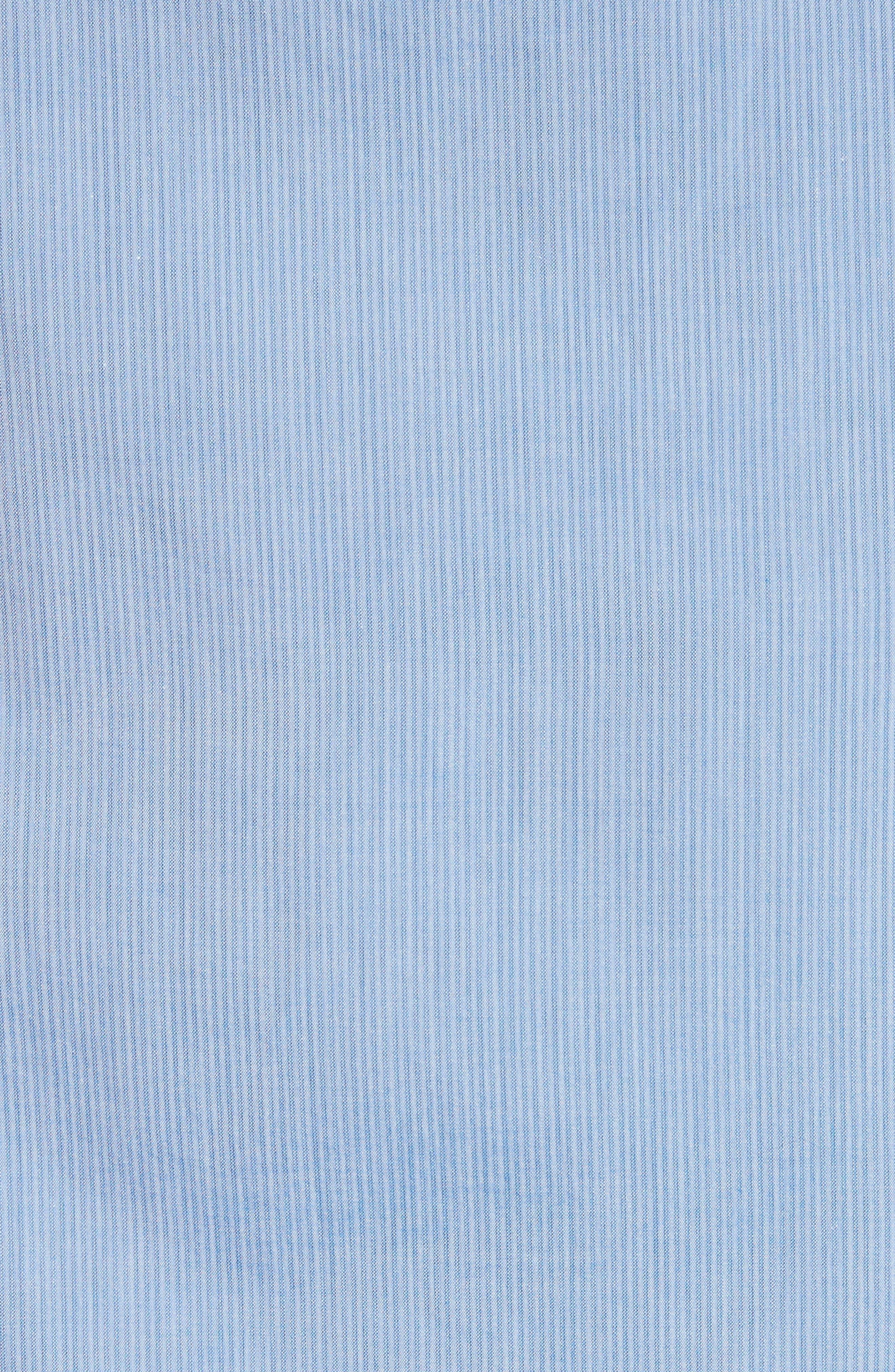 Napoli JB Washed Stripe Sport Shirt,                             Alternate thumbnail 5, color,                             400