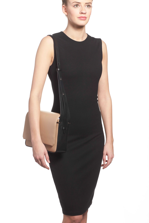 'Alix' Flap Shoulder Bag,                             Alternate thumbnail 12, color,