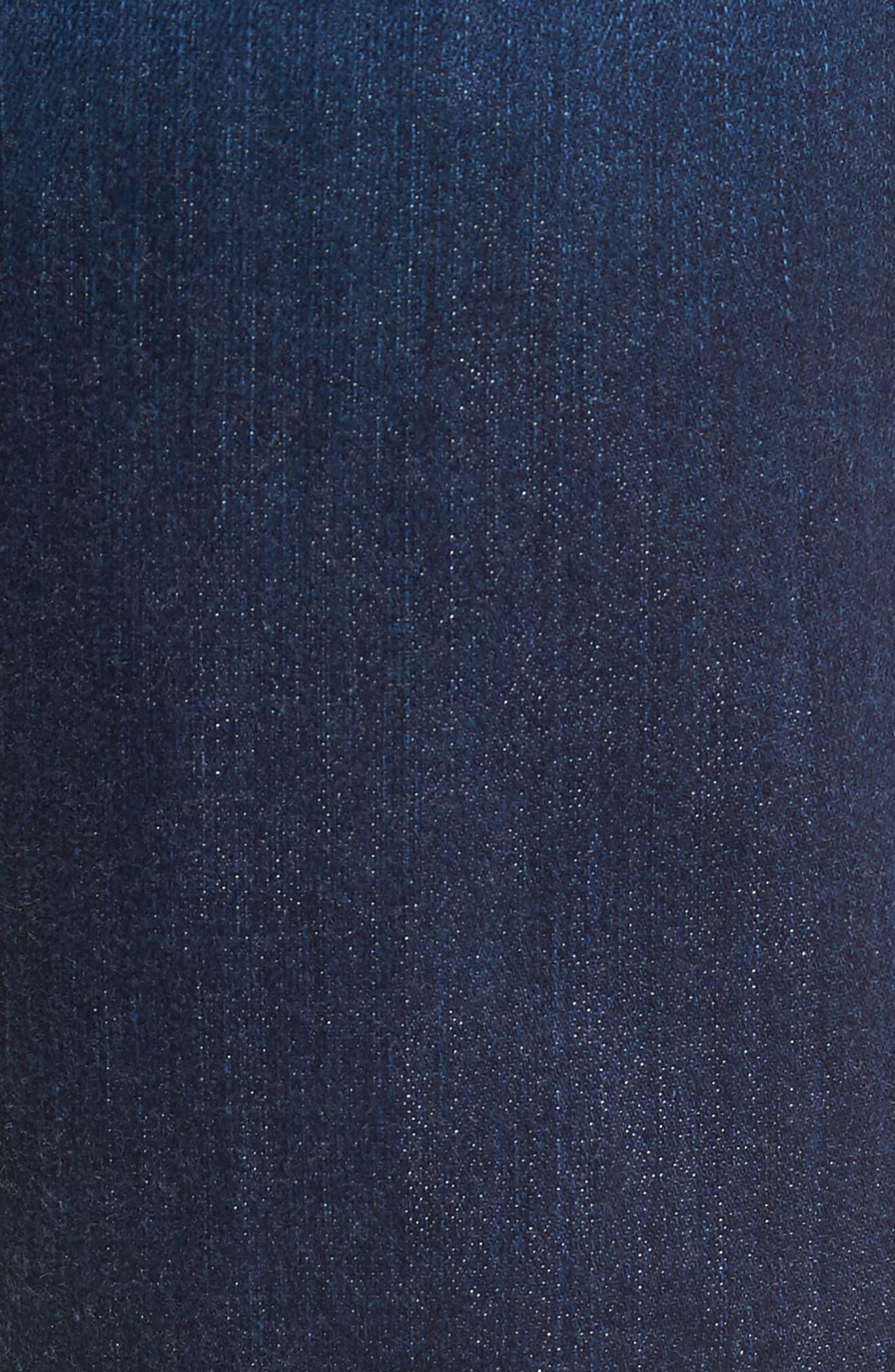 Transcend Vintage - Federal Slim Straight Leg Jeans,                             Alternate thumbnail 5, color,                             ELWYN