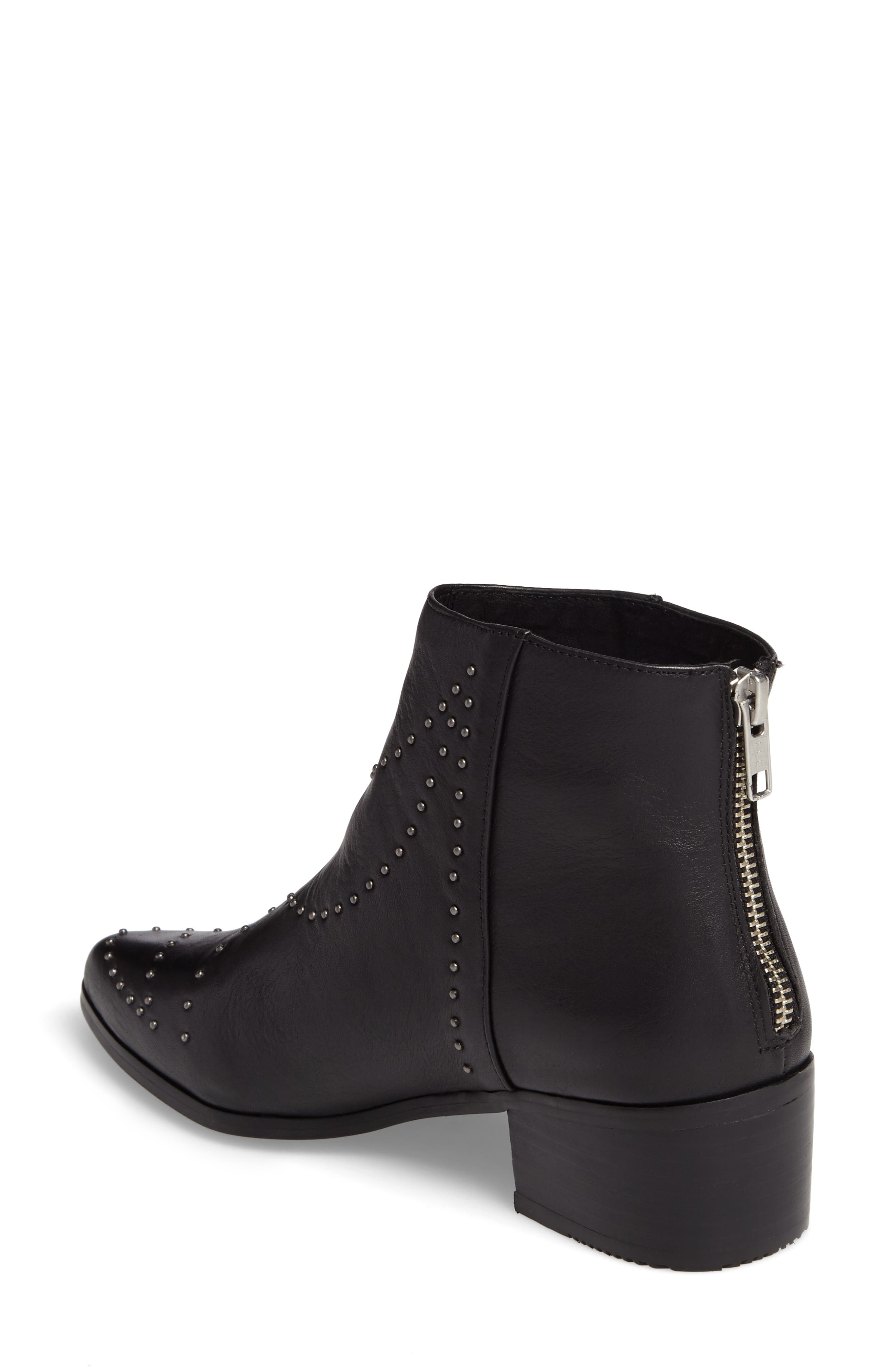 Wendy Studded Bootie,                             Alternate thumbnail 2, color,                             001