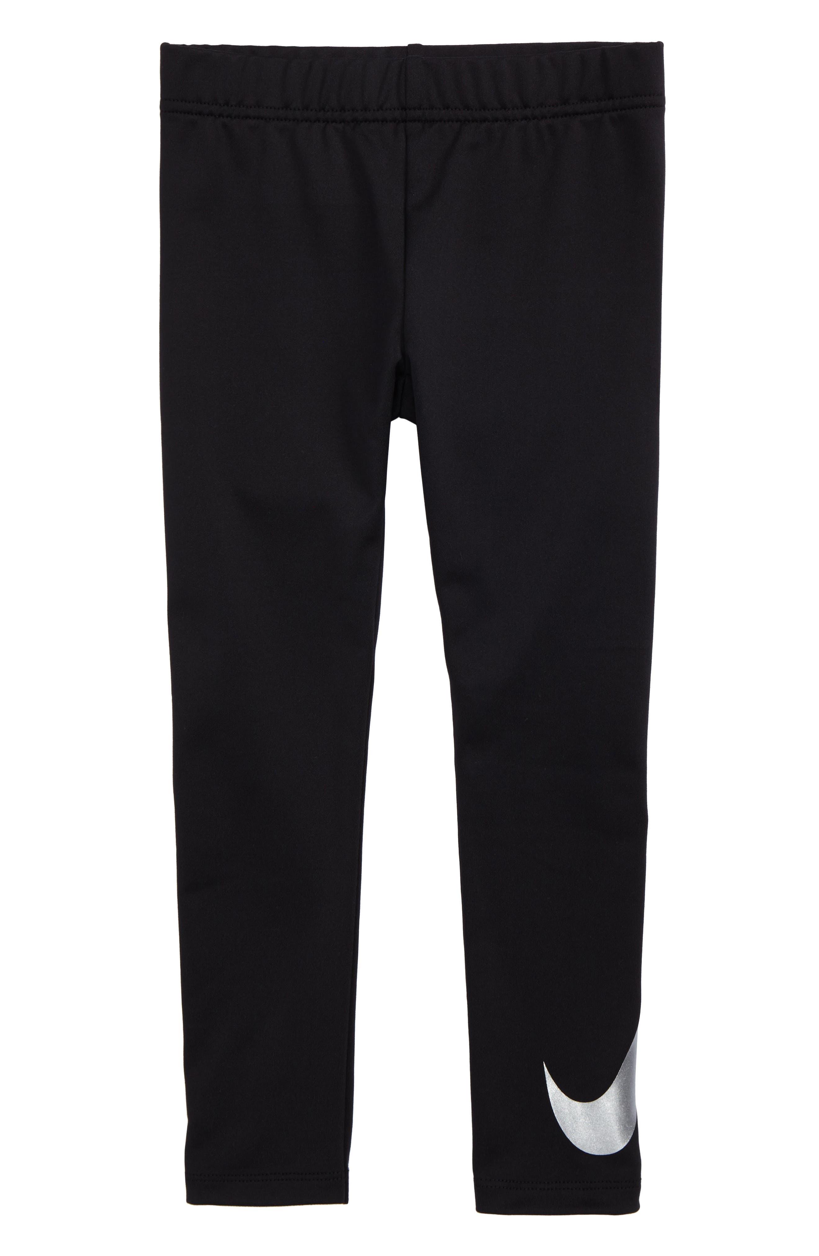 Dry Iridescent Leggings,                             Main thumbnail 1, color,                             BLACK